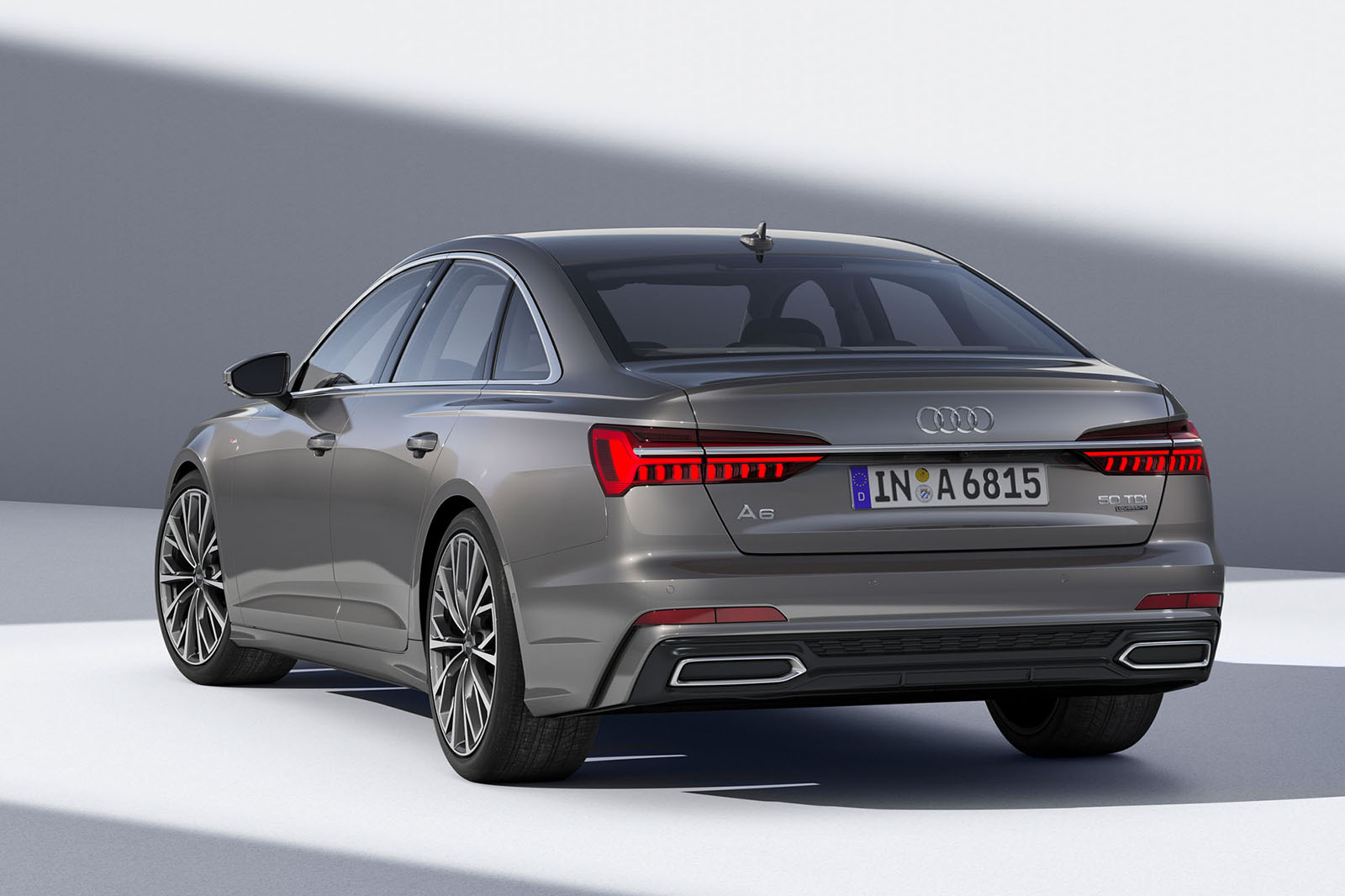 New Audi A Guns For Series With Mildhybrid Power And A Cabin - Car audi a6