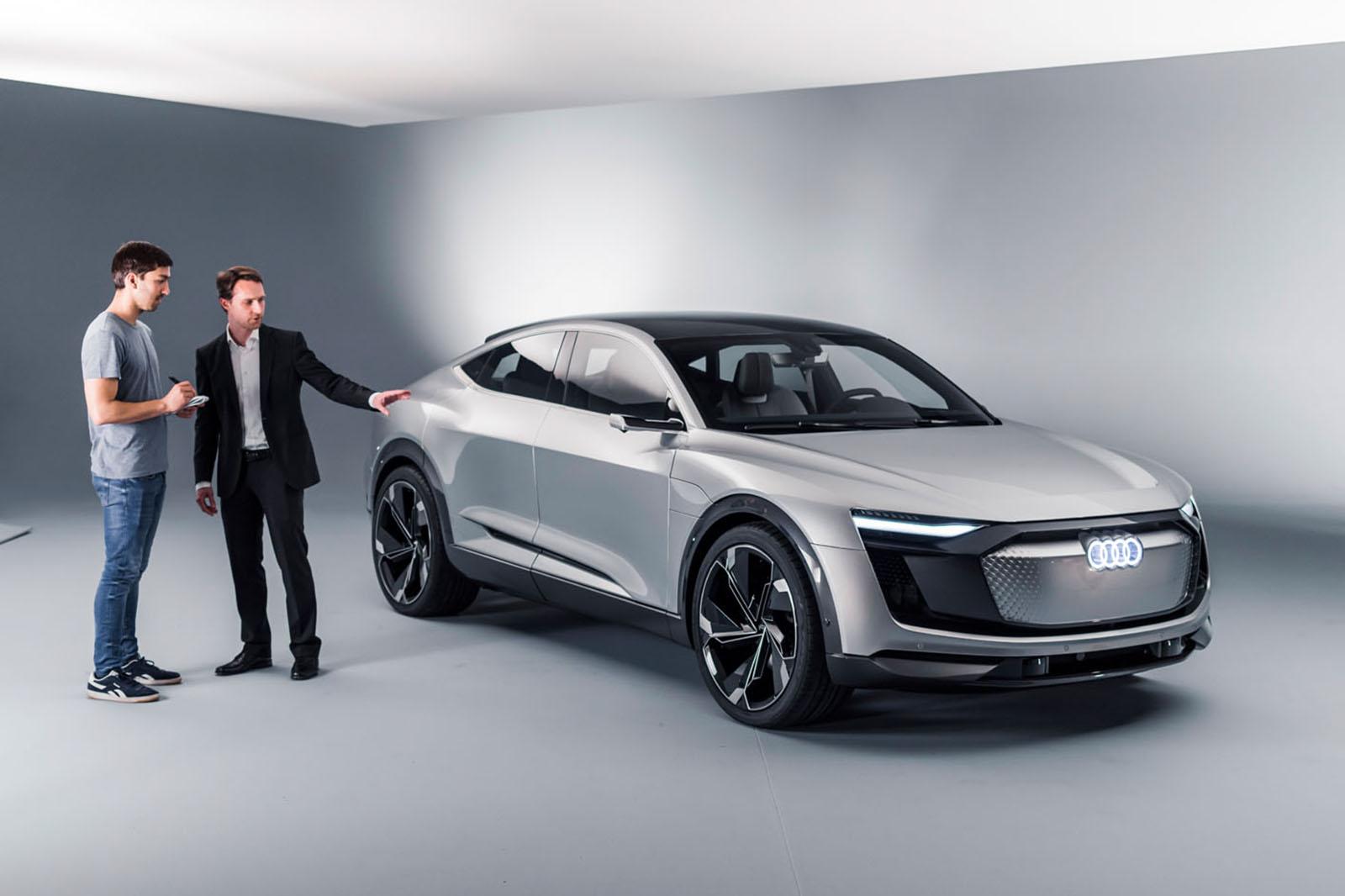Audi e tron sportback crossover june 2019 10