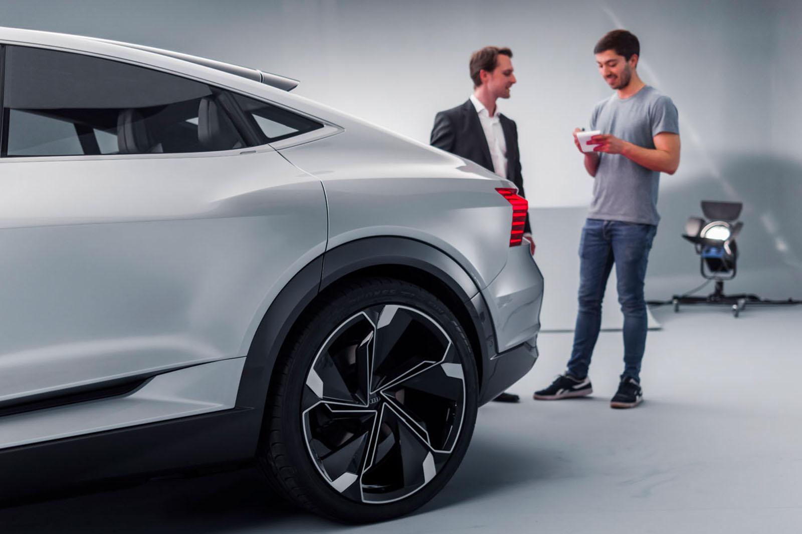 2019 Audi e-tron Sportback set to take on Jaguar I-Pace - AUTO ...