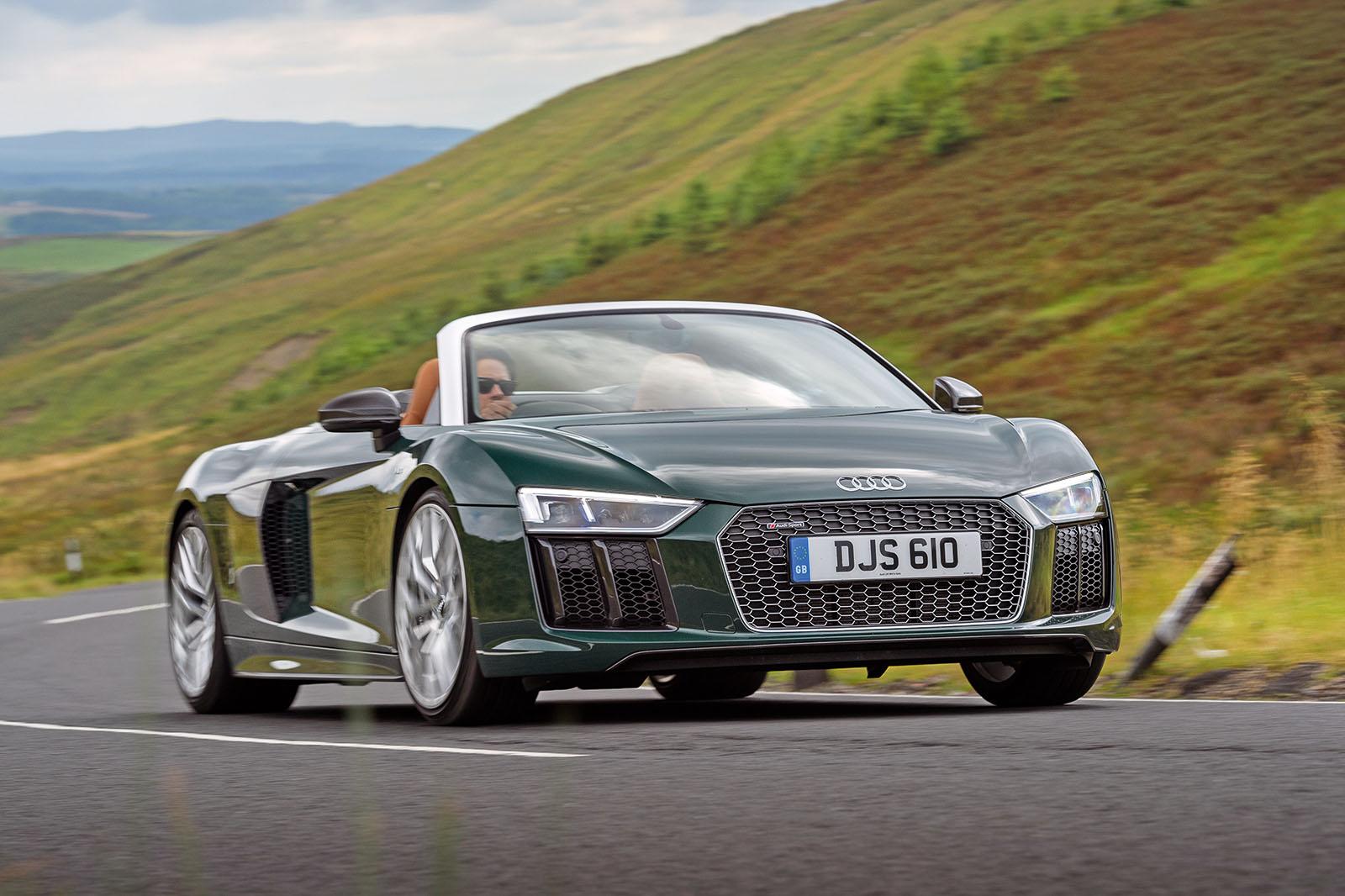 Audi audi r8 spyder v10 : Audi R8 Spyder V10 Plus 2017 review | Autocar