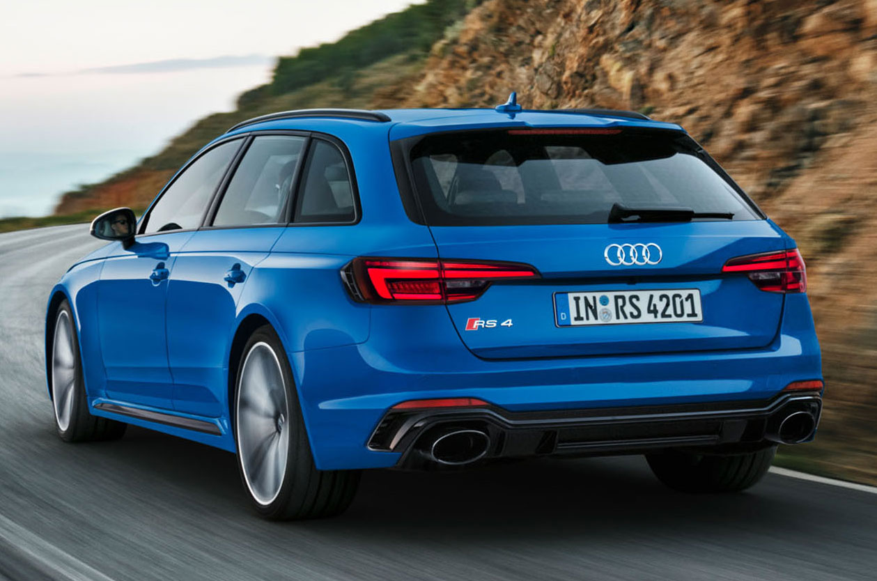 new audi rs4 avant unveiled with 125lb ft torque boost. Black Bedroom Furniture Sets. Home Design Ideas