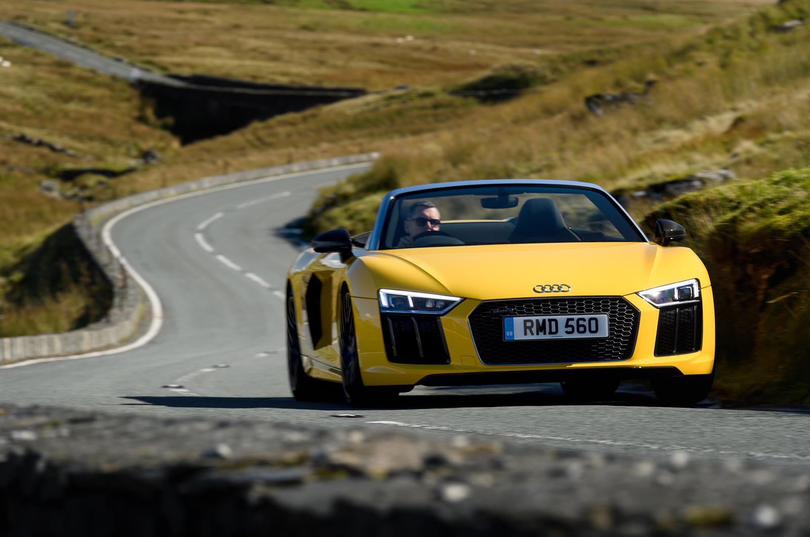 Audi R Spyder UK Drive Review Review Autocar - Audi autocar