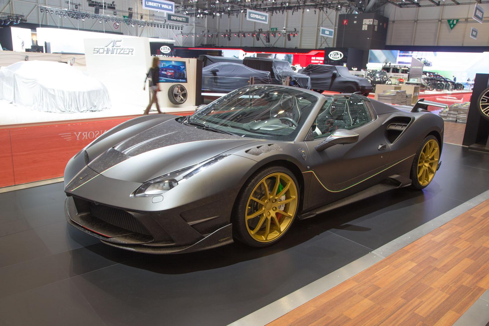 German tuner Mansory launches Ferrari 488-based 4XX Siracusa Spider