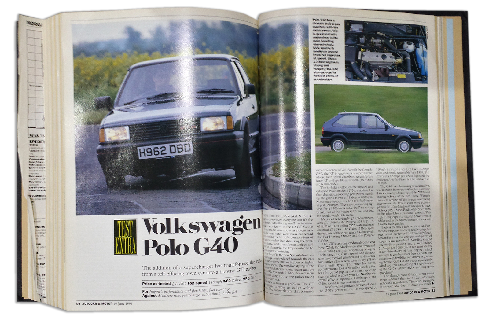 Volkswagen Polo G40 Tested Throwback Thursday Autocar