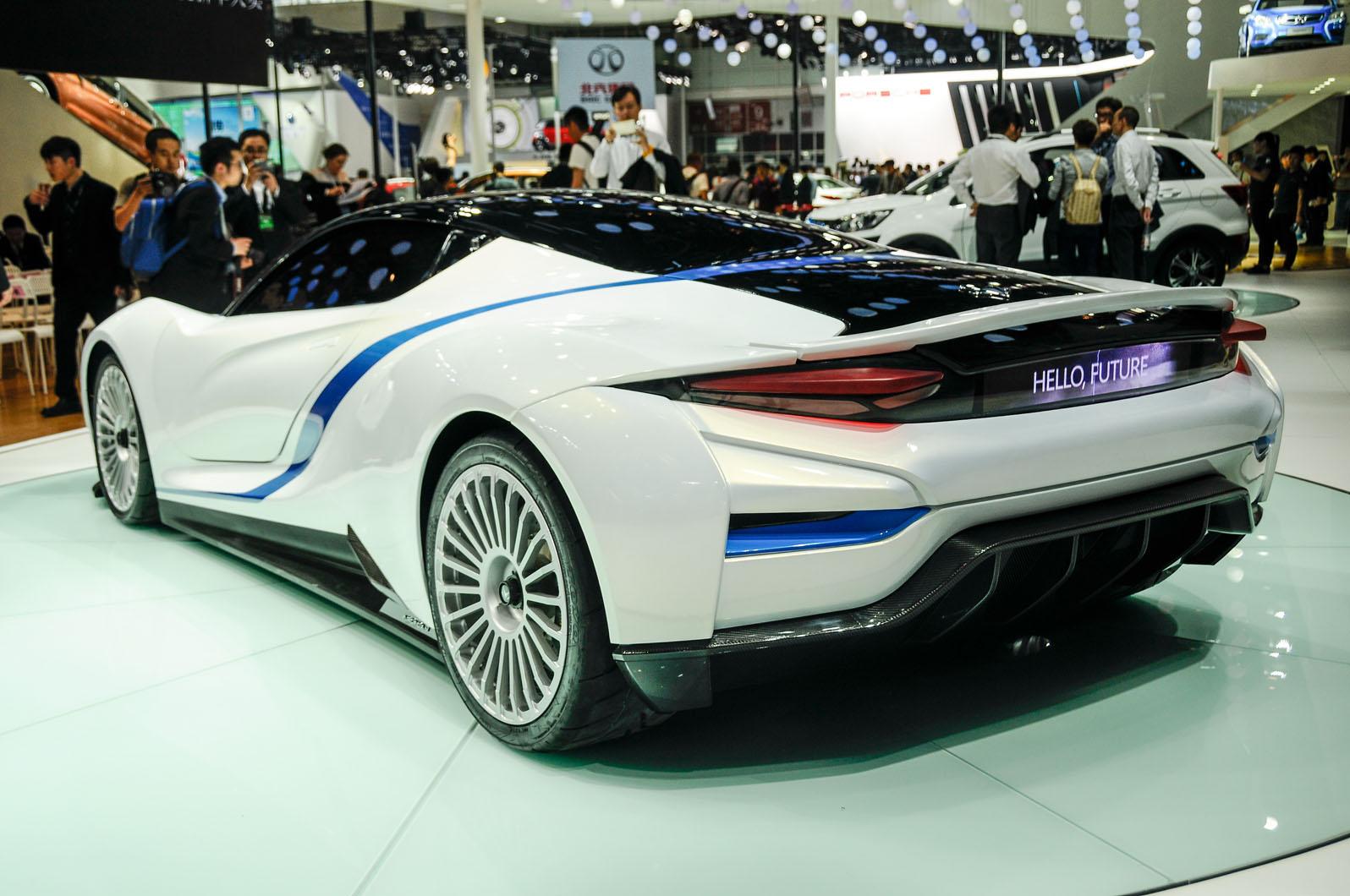 Baic Unveils Arcfox 7 Electric Supercar In China Autocar