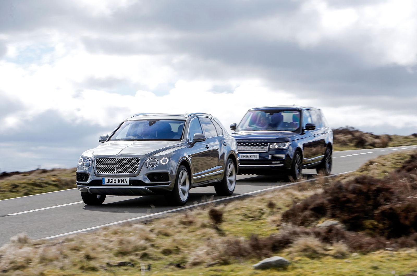 Bentley Bentayga Vs Range Rover Luxury Suv Comparison Autocar