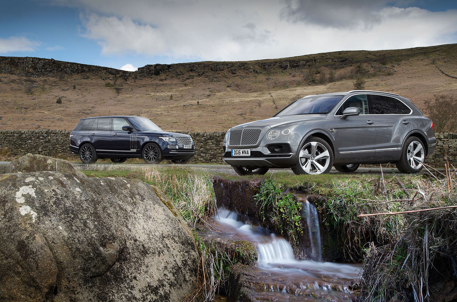 Bentley Bentayga Vs Range Rover Luxury Suv Comparison Autocar
