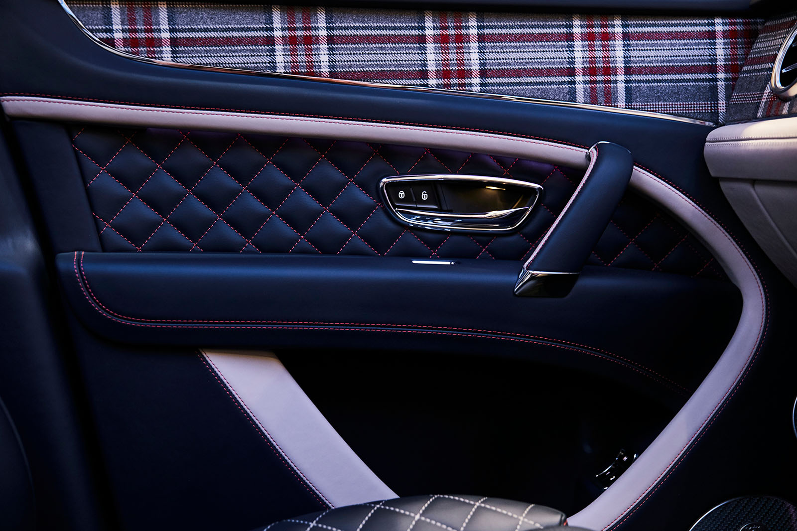 Limited Edition Bentley Bentayga Features Plaid Interior And Chessboard Autocar