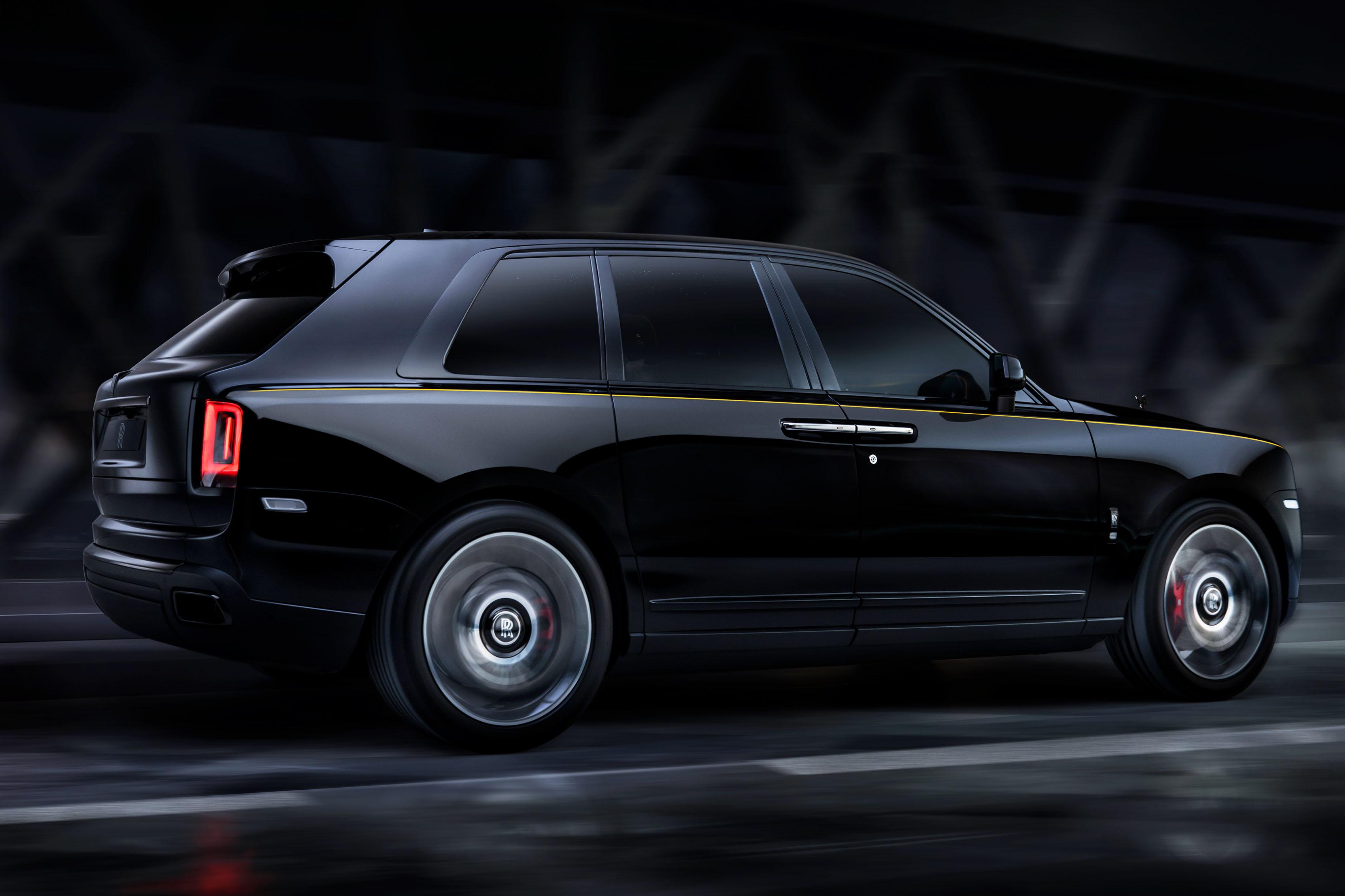 Rolls Royce Cullinan Gains Black Badge Variant Autocar