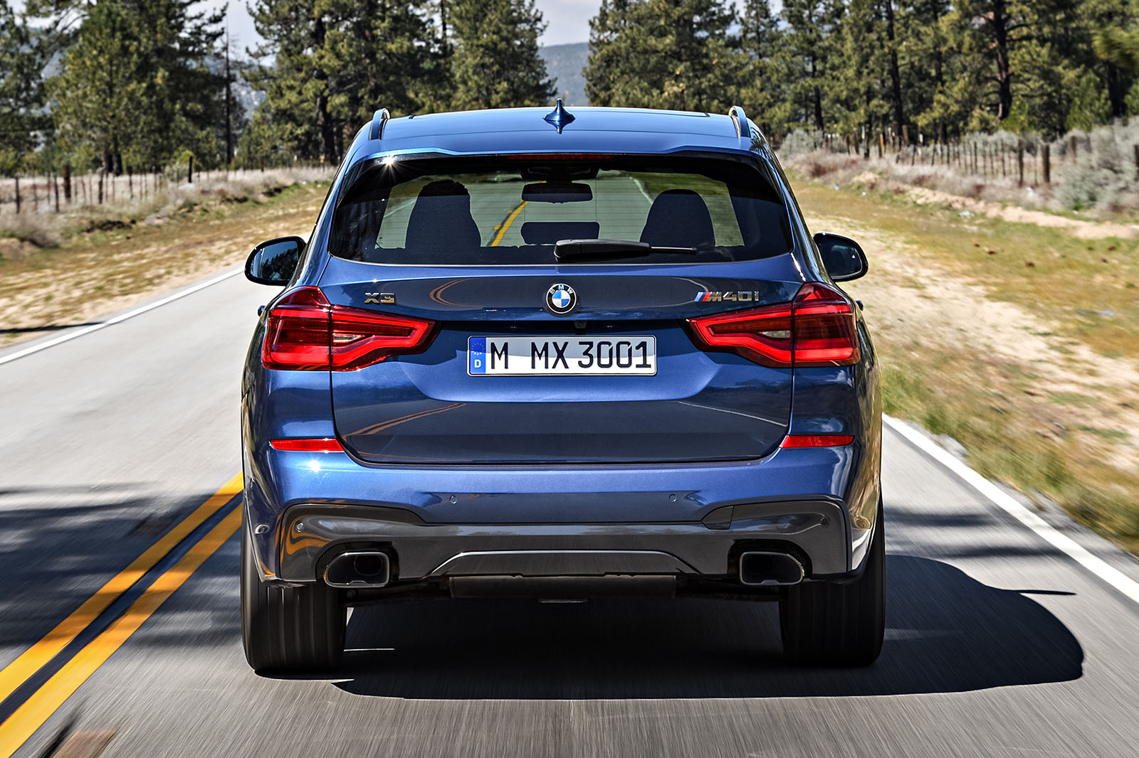 2017 bmw x3 revealed with hot m40i rival to audi sq5 autocar. Black Bedroom Furniture Sets. Home Design Ideas