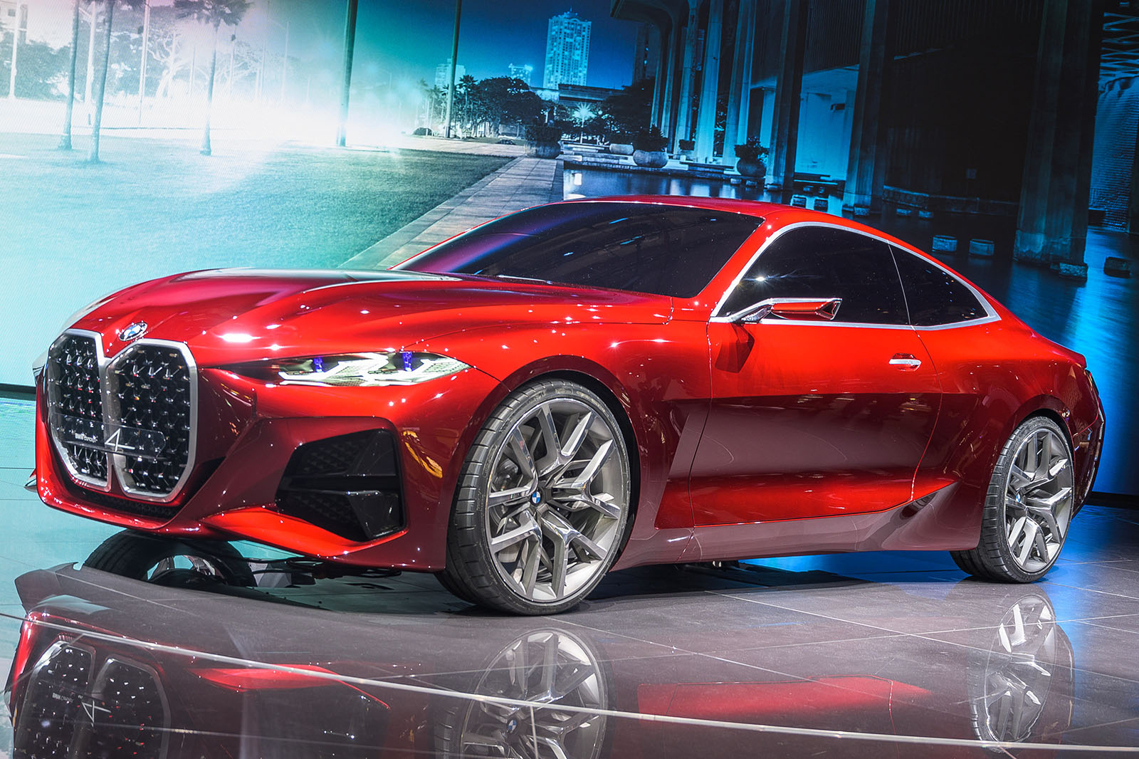 BMW previews next-gen 4 Series and i4 with bold concept ...