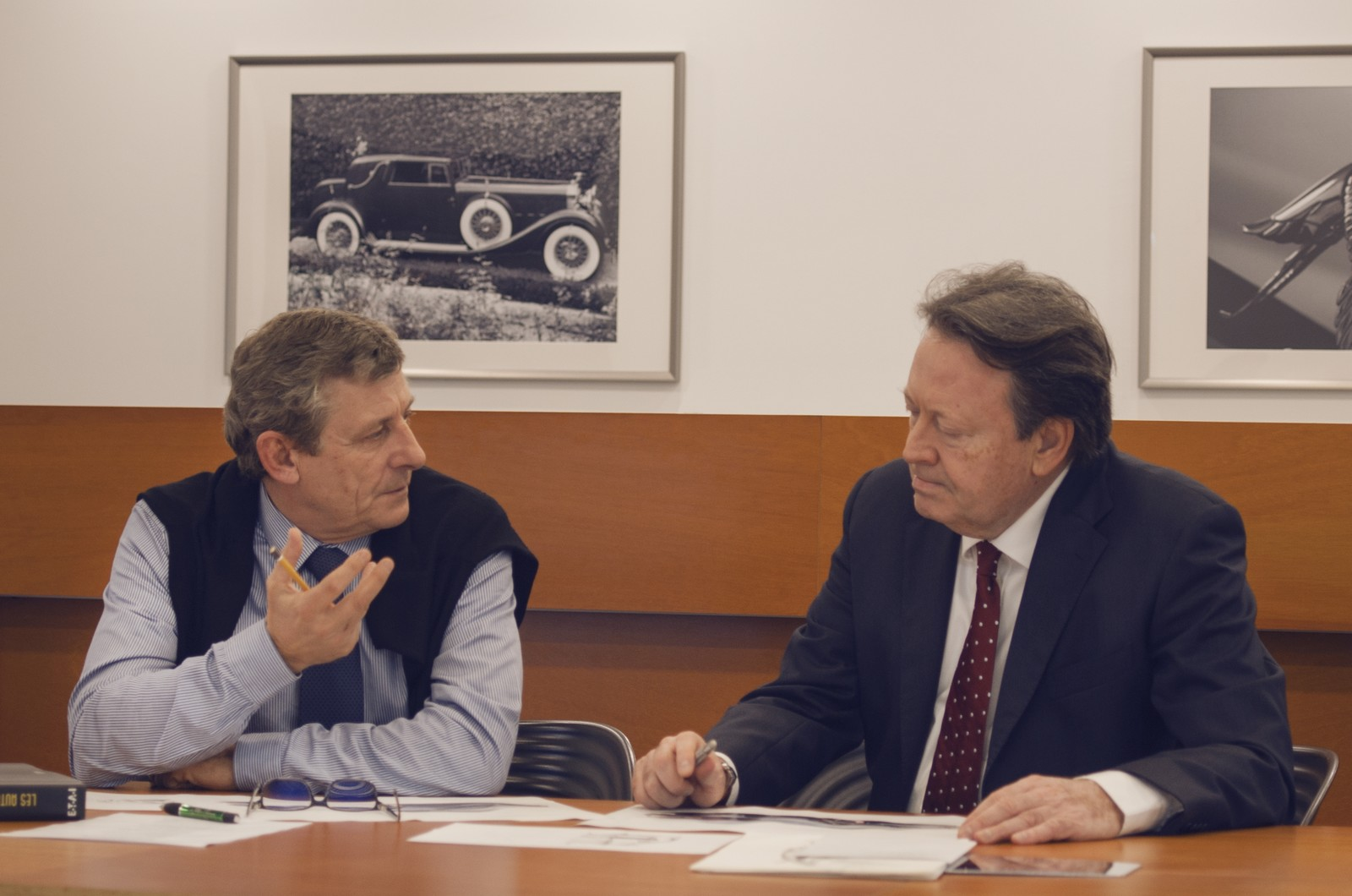 Olivier Boulay (left) and Erwin Leo Himmel (right) have joined forces to bring Hispano Suiza back to life. Among others...