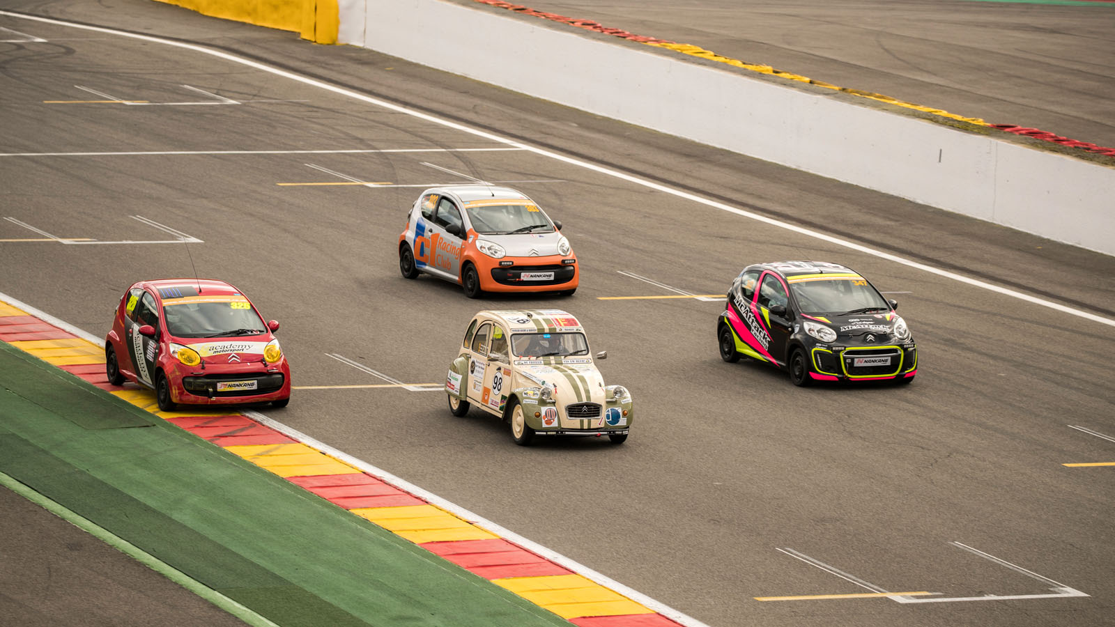 24-hour racing in a Citroen C1: the most fun race on Earth? | Autocar