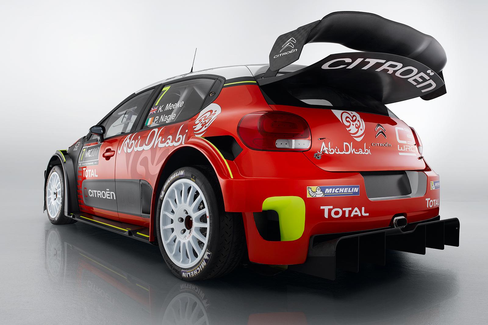citroen c3 wrc revealed ahead of 2017 world rally championship autocar. Black Bedroom Furniture Sets. Home Design Ideas