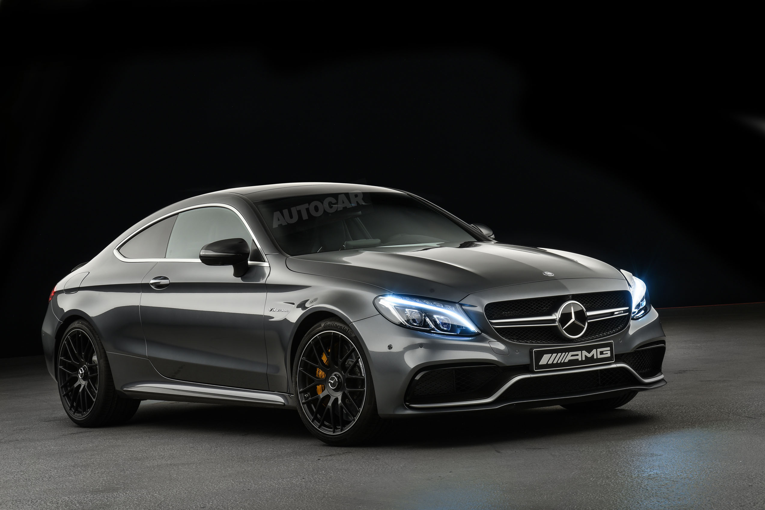 2016 Mercedes Amg C63 Coupe Revealed Exclusive Studio Pictures 99 Gmc Van Wiring Diagram Door Autocar