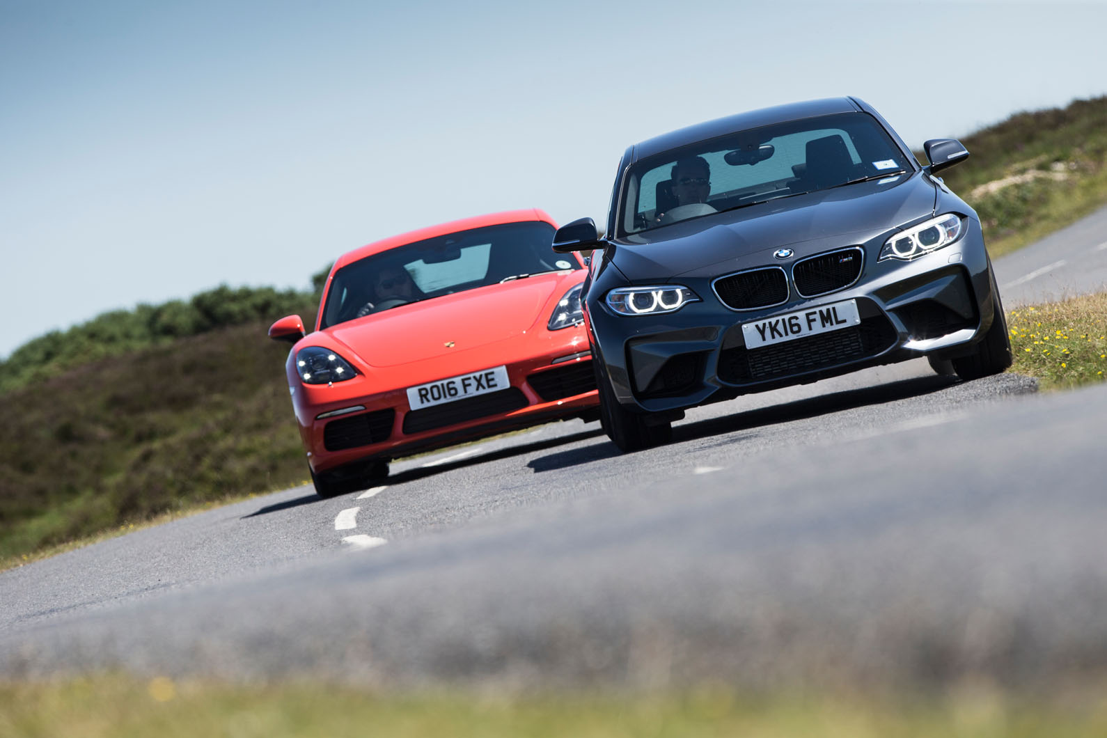 Porsche 718 Cayman S Vs Bmw M2 Vs Jaguar F Type Battle Of The
