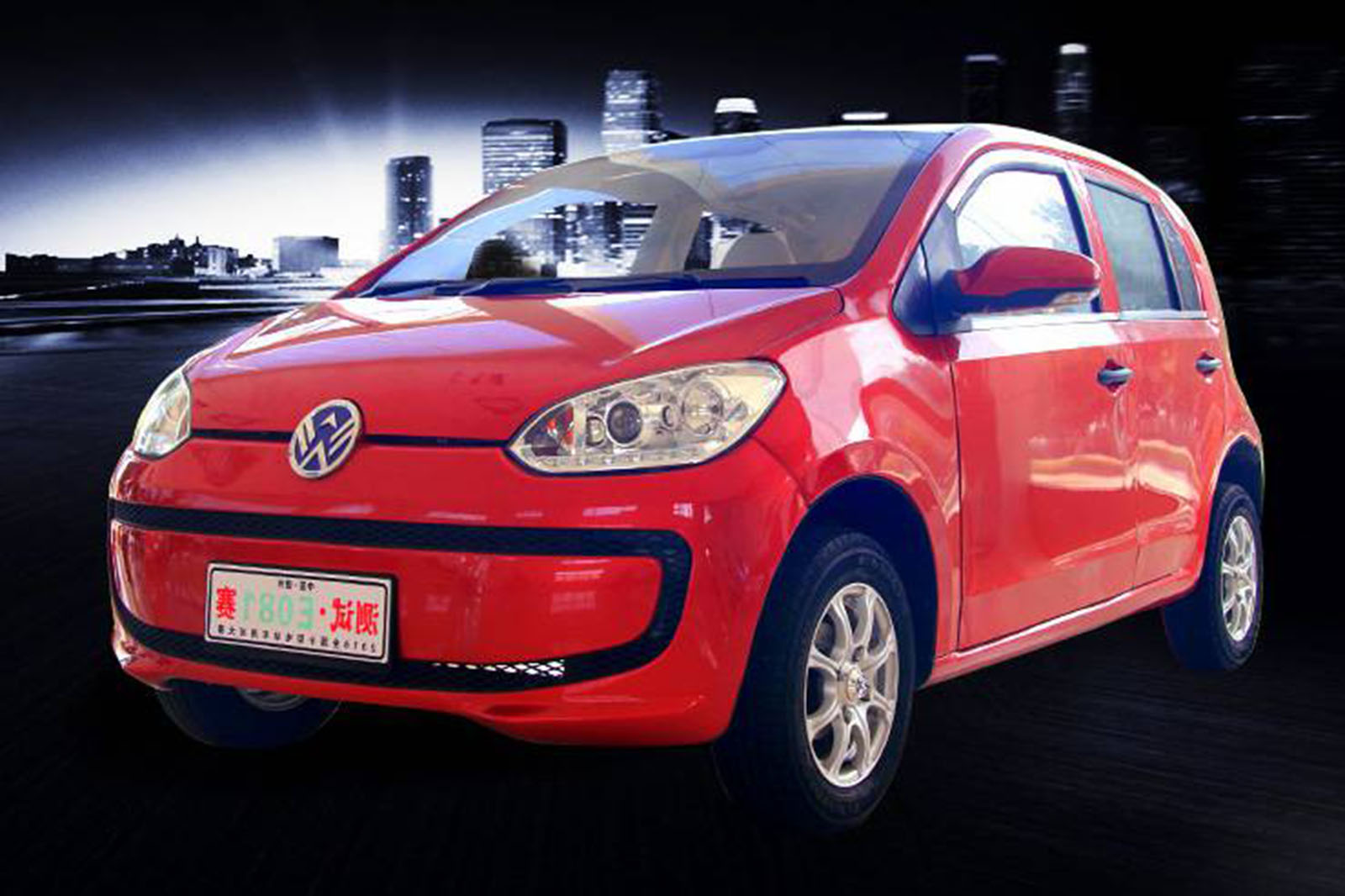 history of electric cars in china