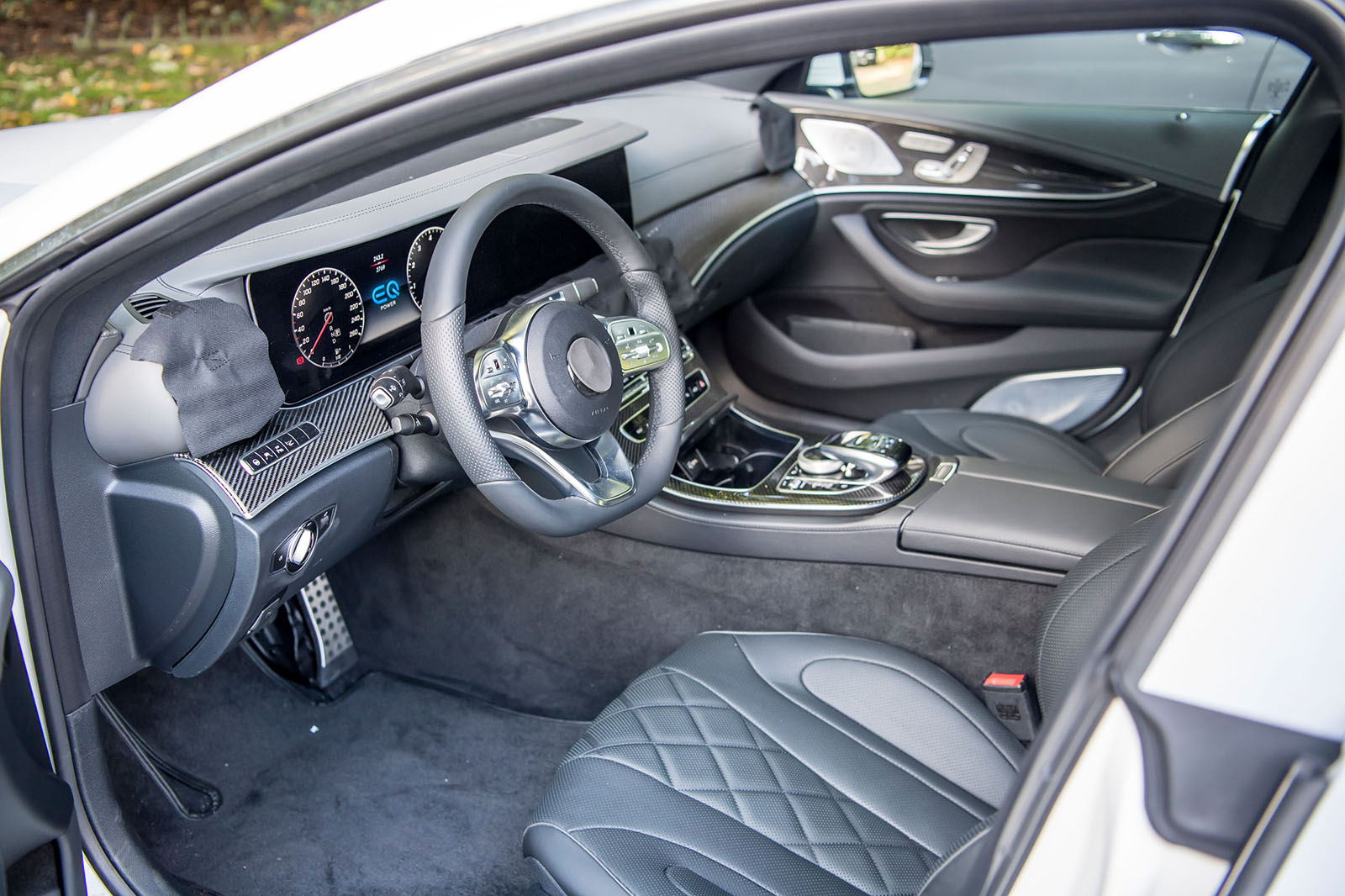 Mercedes Benz Cls 2018 First Ride In Pre Production Car Autocar
