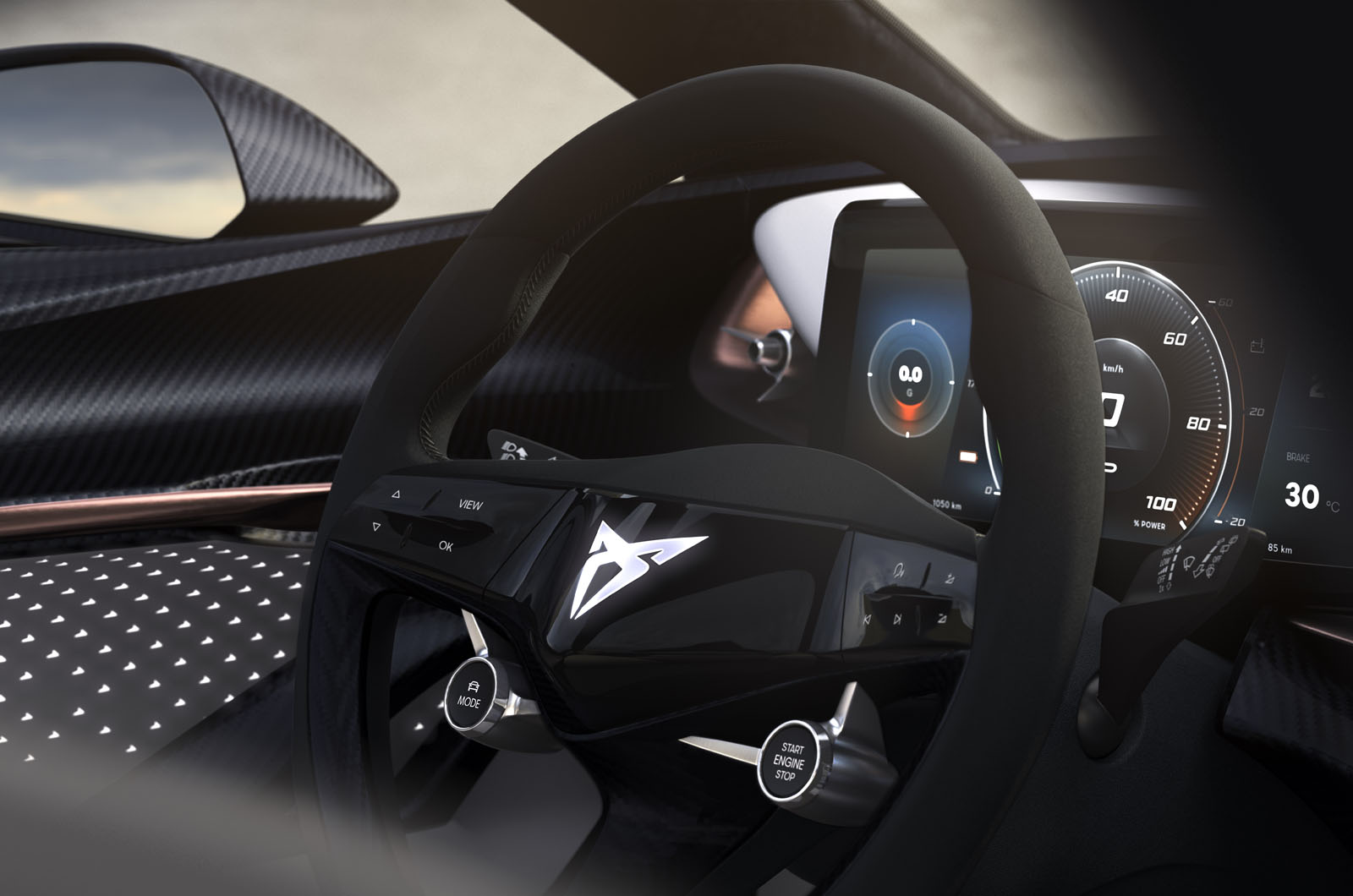 Cupra previews interior of first EV ahead of Frankfurt reveal  Autocar