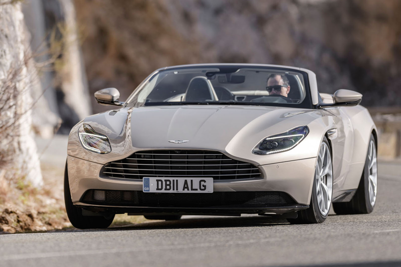 Aston Martin Db11 Volante 2018 Review Autocar
