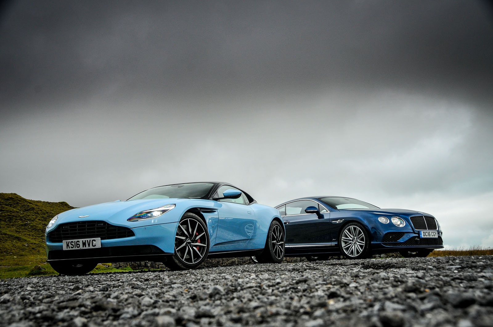 Aston Martin DB11 vs Bentley Continental GT Speed - grand tourers compared