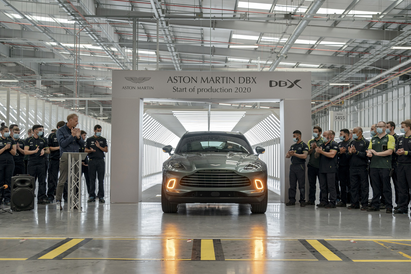 New Aston Martin DBX: vital new SUV enters production | Autocar