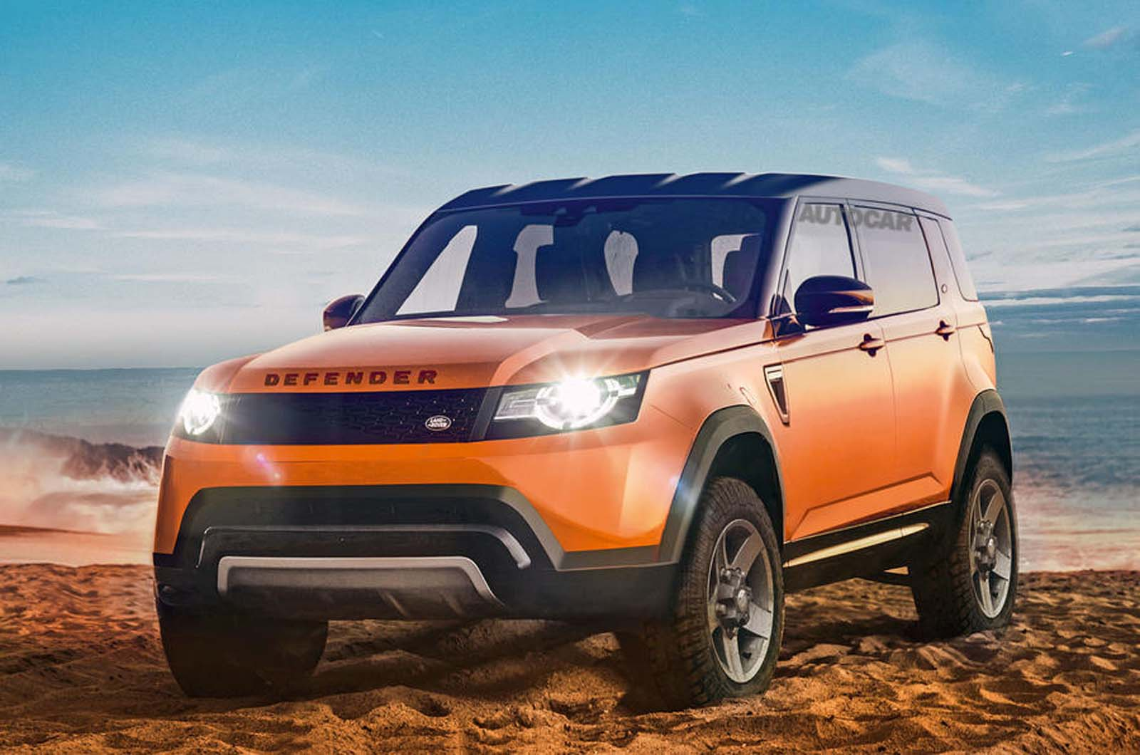 Baby Suvs To Spearhead New Land Rover Offensive Autocar