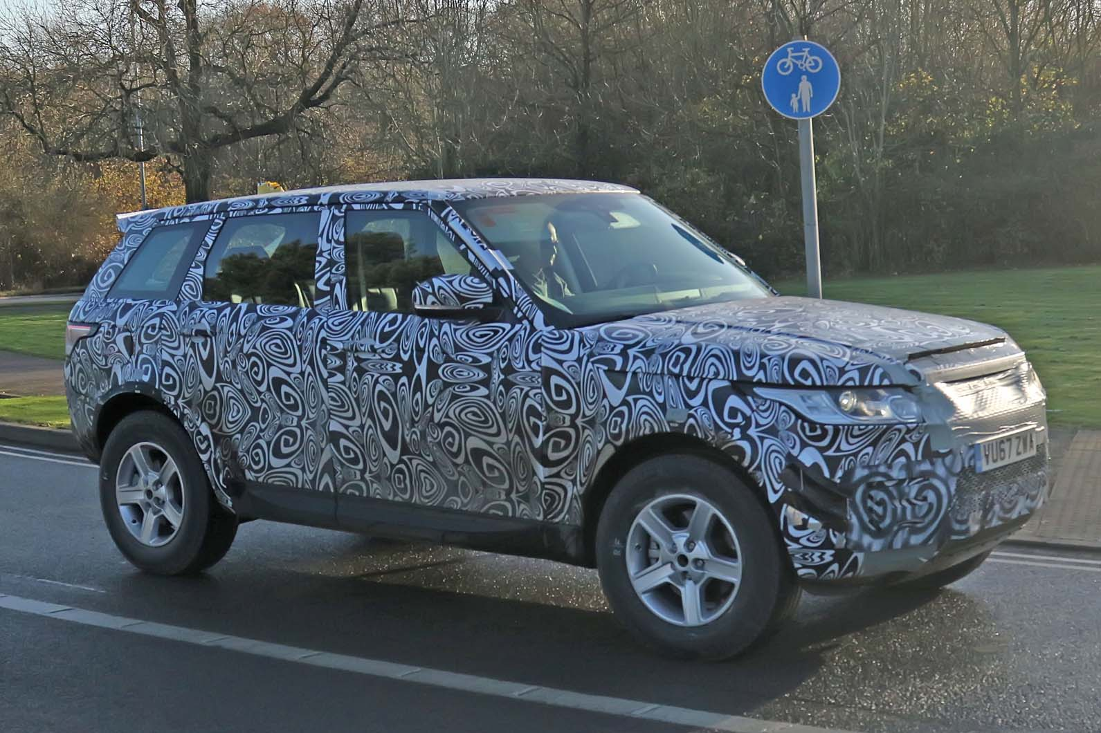New Land Rover Defender Edges Closer To Production As Cold