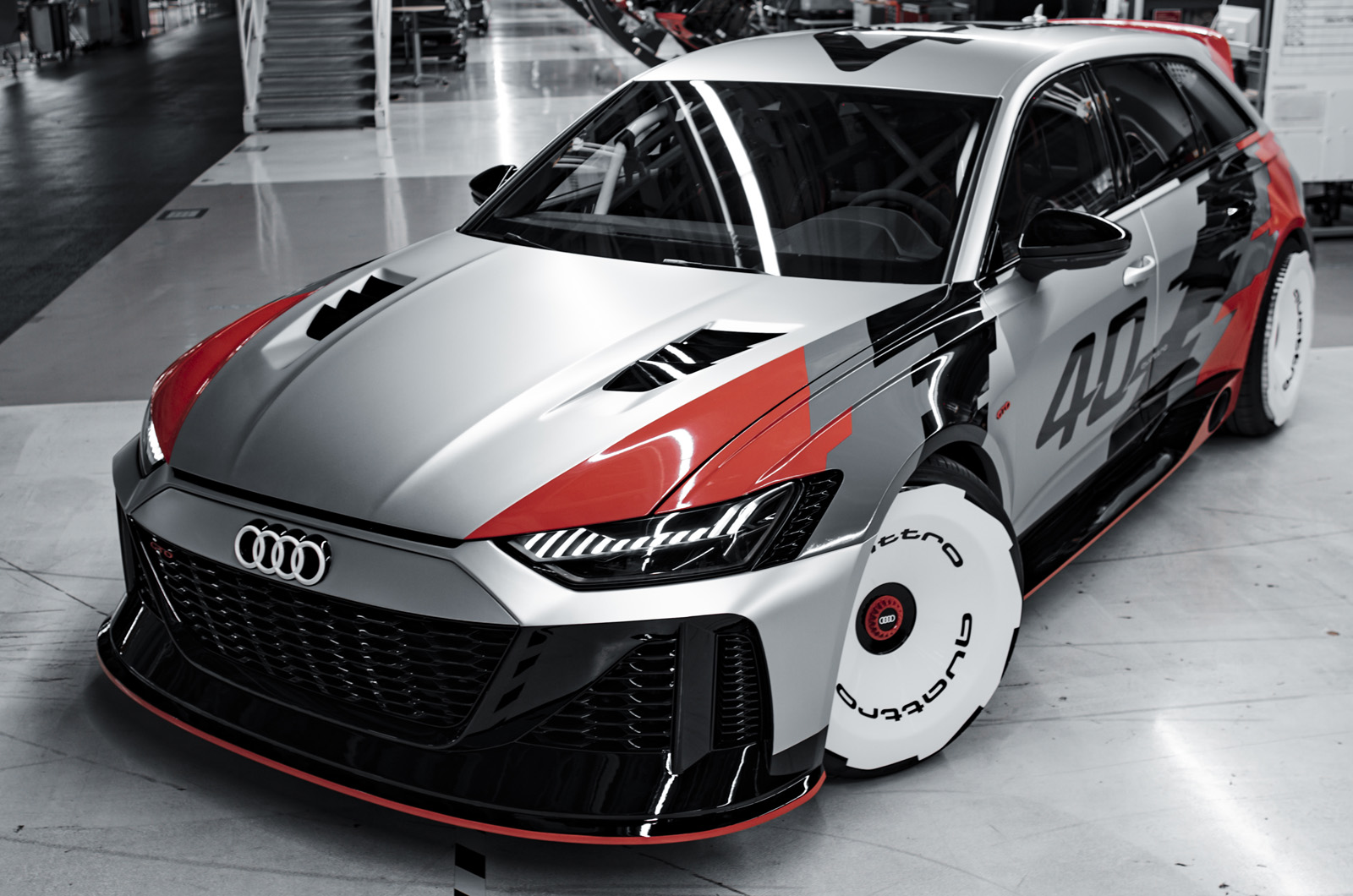 Audi Rs6 Gto Concept Marks 40 Years Of Quattro Autocar