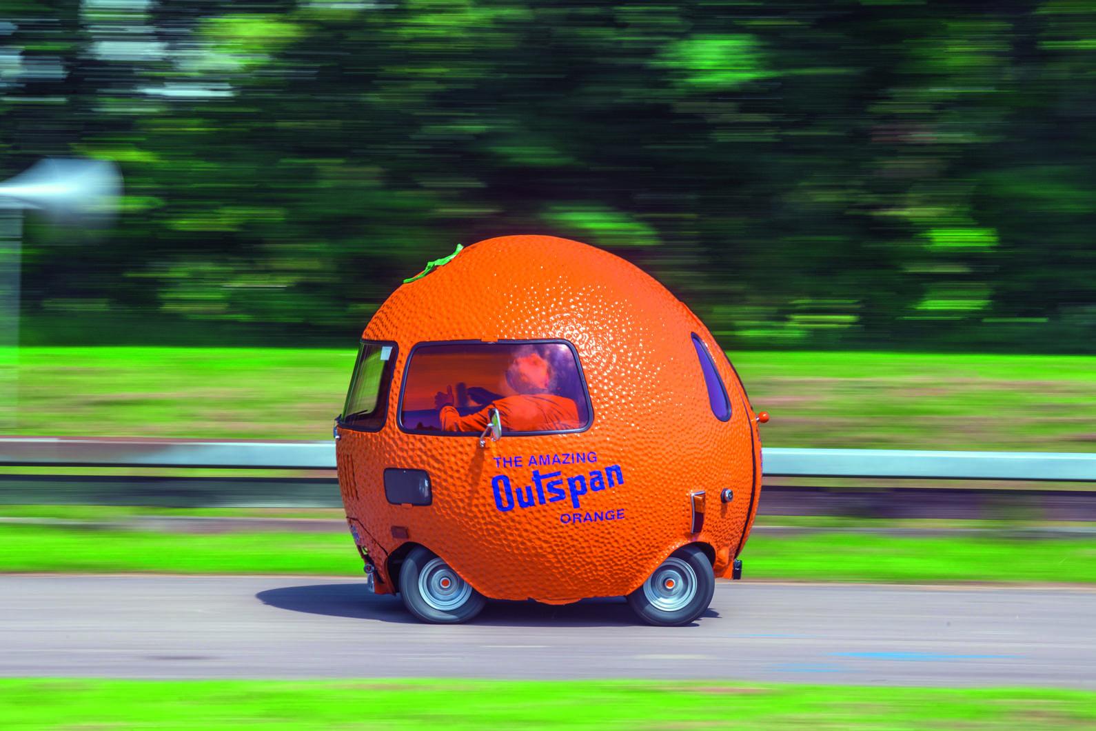 Strange fruit: driving the Mini-based Outspan Orange