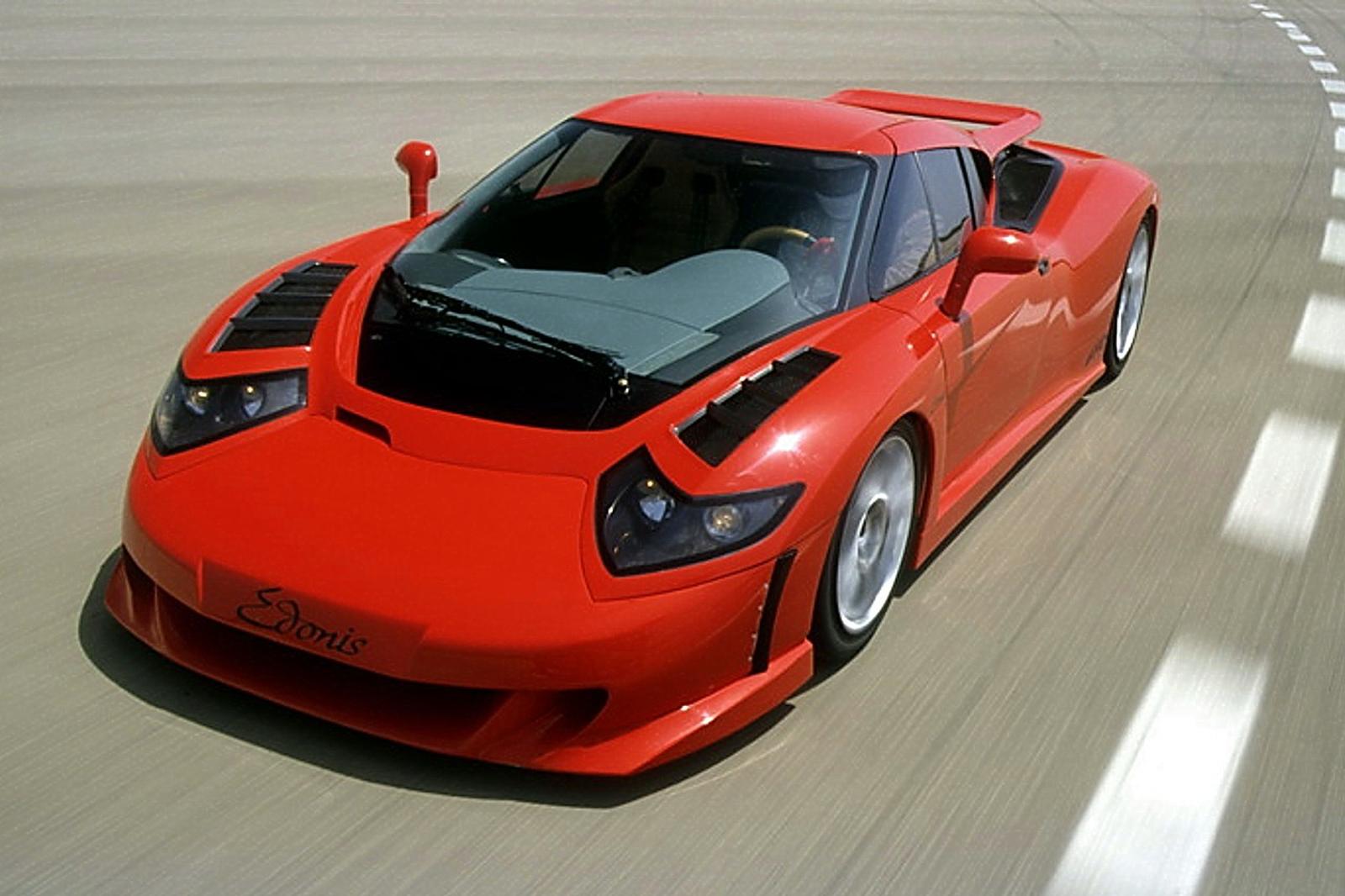 Bugatti EB110 resurrected as SP-110 Edonis Fenice