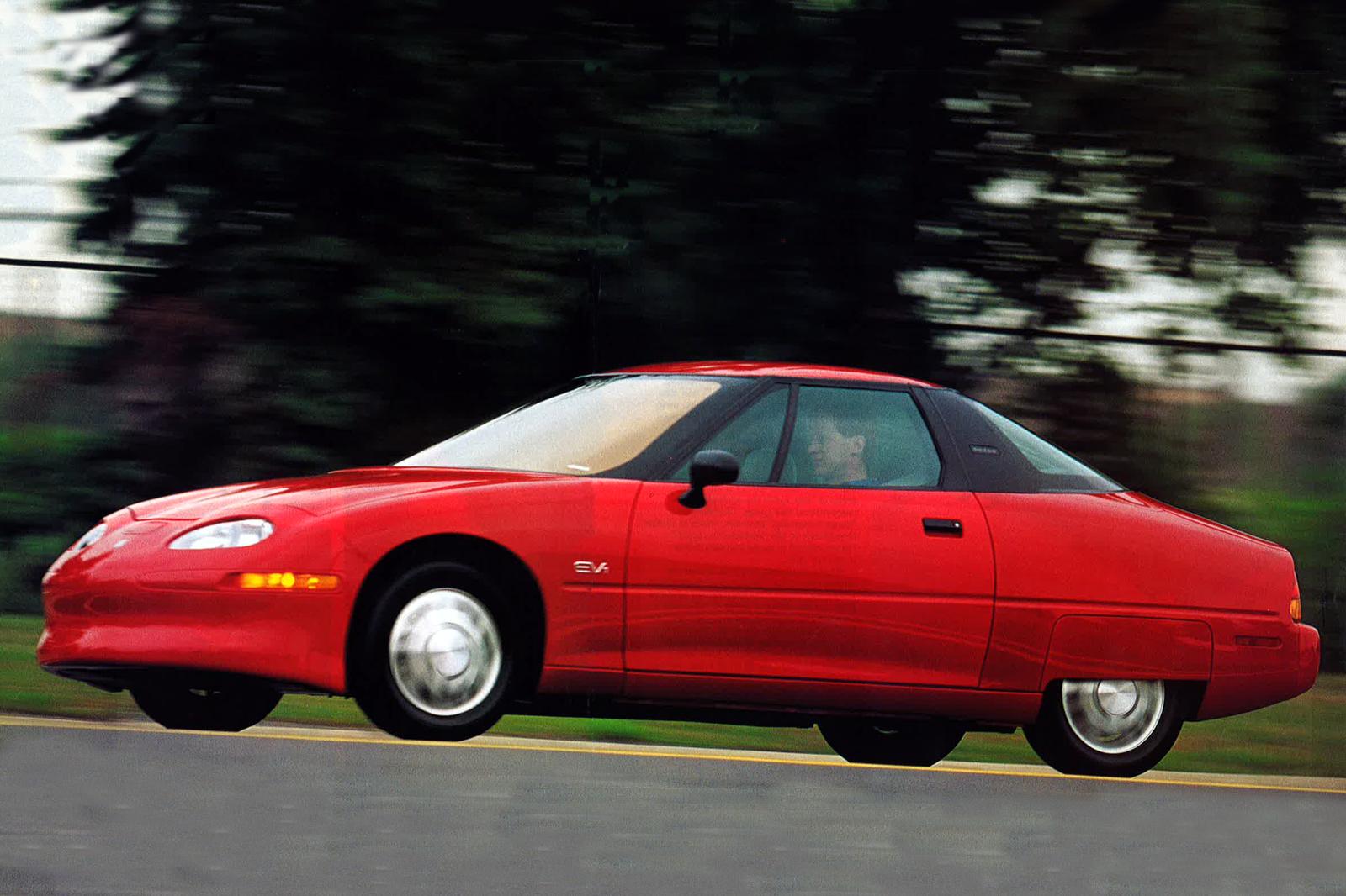 Throwback Thursday: 1996 General Motors EV1 first drive | Autocar