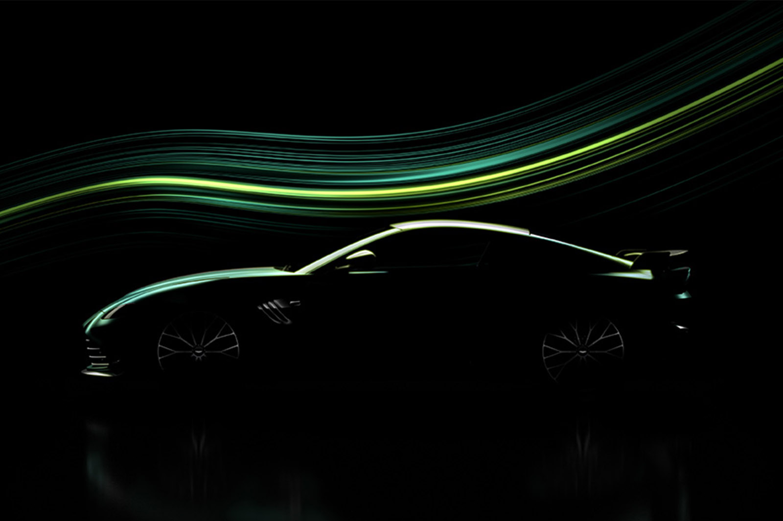 Aston Martin previews hardcore Vantage for Monday reveal | Autocar