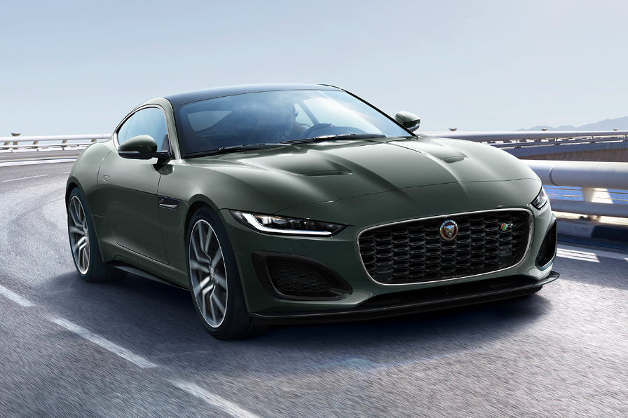 Jaguar F-Type Heritage 60 Edition marks 60 years of the E ...