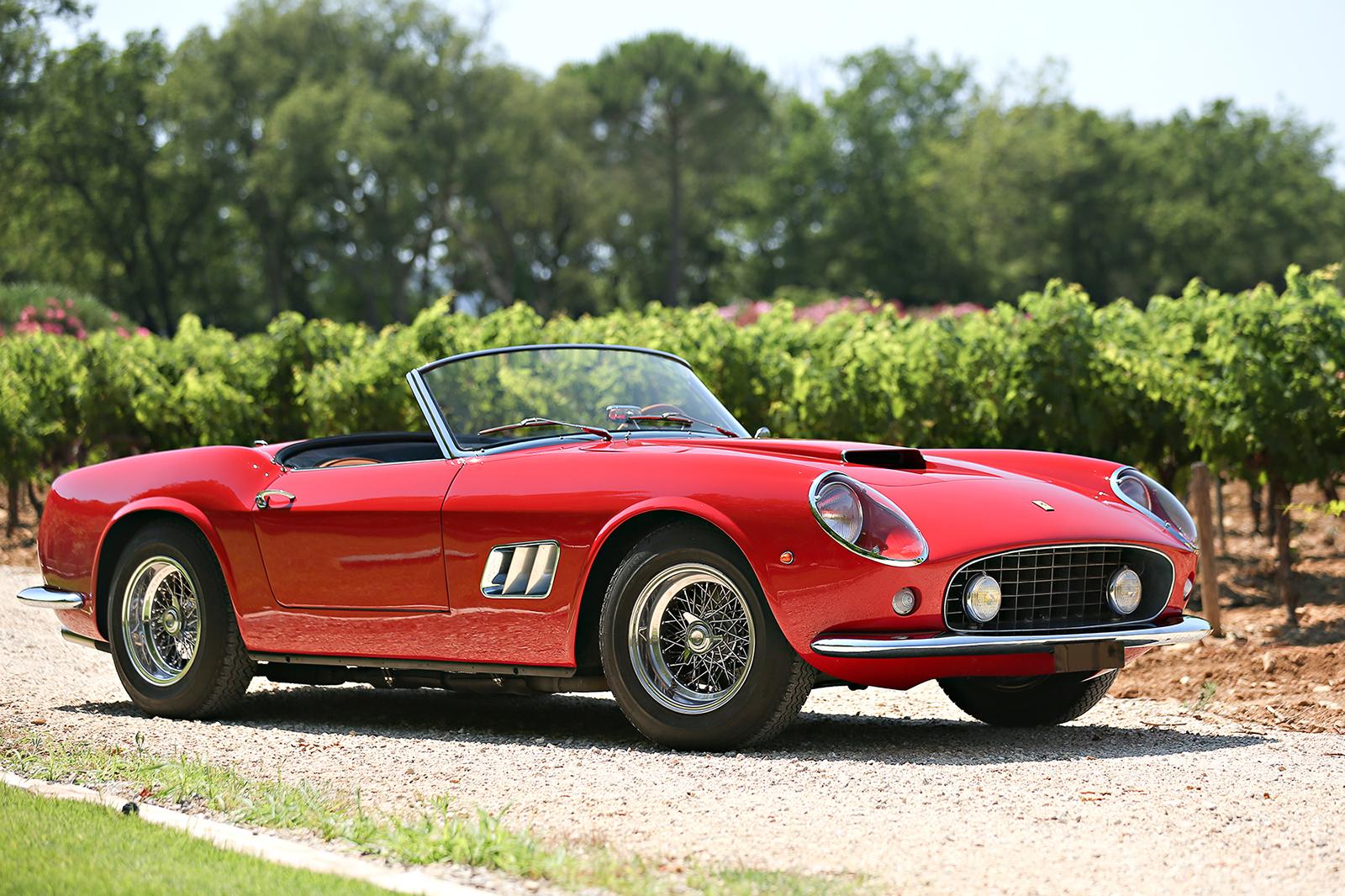The 13 Most Expensive Cars Ever Sold Autocar 1960s Jaguar 10 Ferrari 250 Gt Swb California Spider 18500000 14925370