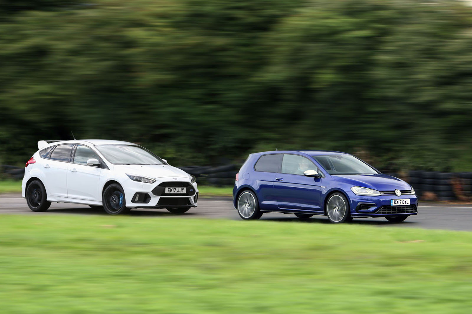 Britain s best affordable driver s car volkswagen golf r versus ford focus rs
