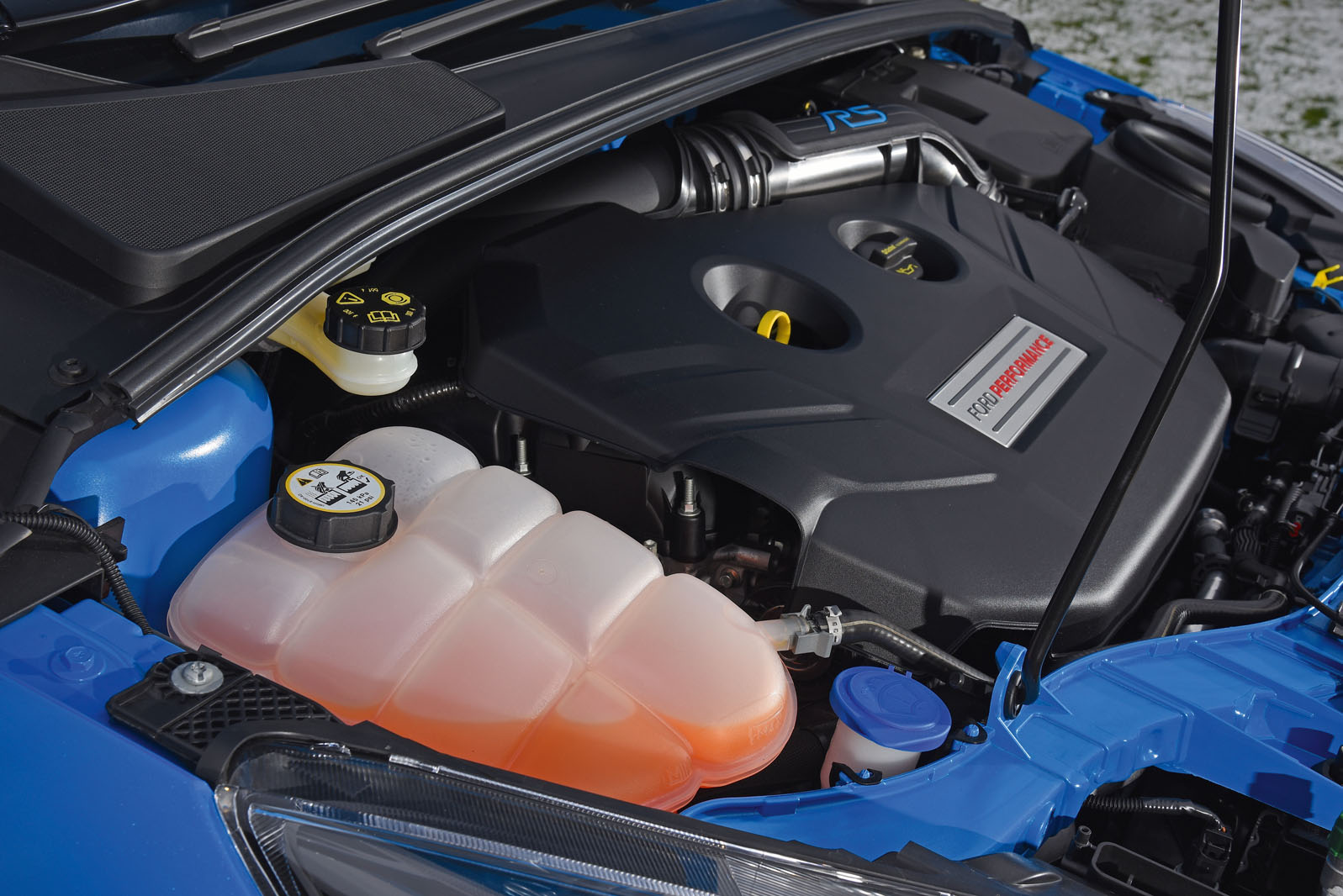 Analysis Ford Focus Rs Engine Problem Autocar Oldsmobile Coolant Although The Unit Is Built Alongside Mustangs Four Pot Motor At Fords Valencia Plant In Spain 345bhp Powerplant Uses An Aluminium Head