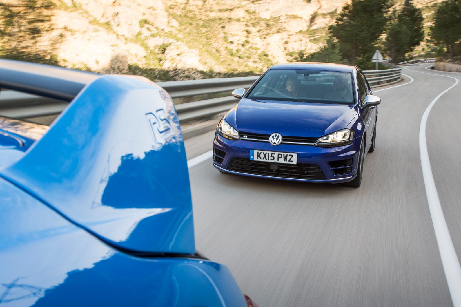 Ford Focus Rs Versus Volkswagen Golf R Twin Test Autocar Wiring Diagram