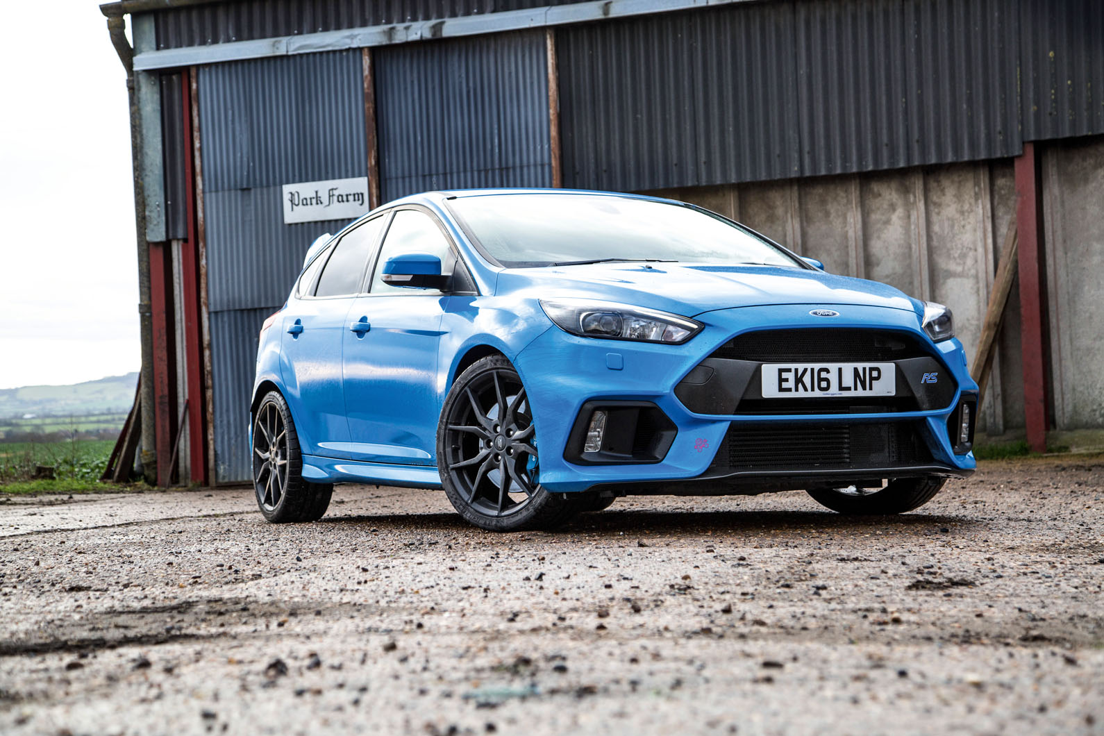 And, in all honesty, the Focus RS didn't initially feel all that amazing at  normal speeds. It felt (whisper it) a bit ordinary, in fact.
