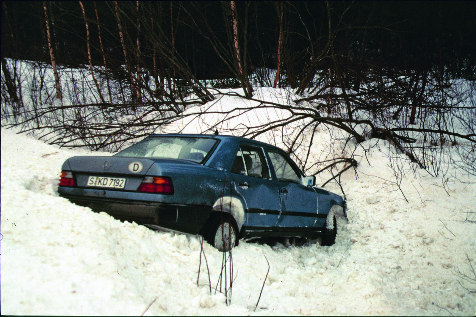 How an icy crash led to the invention of electronic stability ...