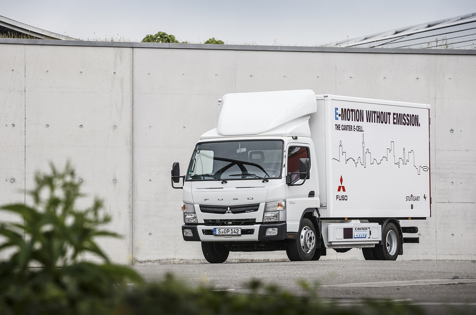How the Fuso Canter E-Cell electric truck could deliver the future | Autocar