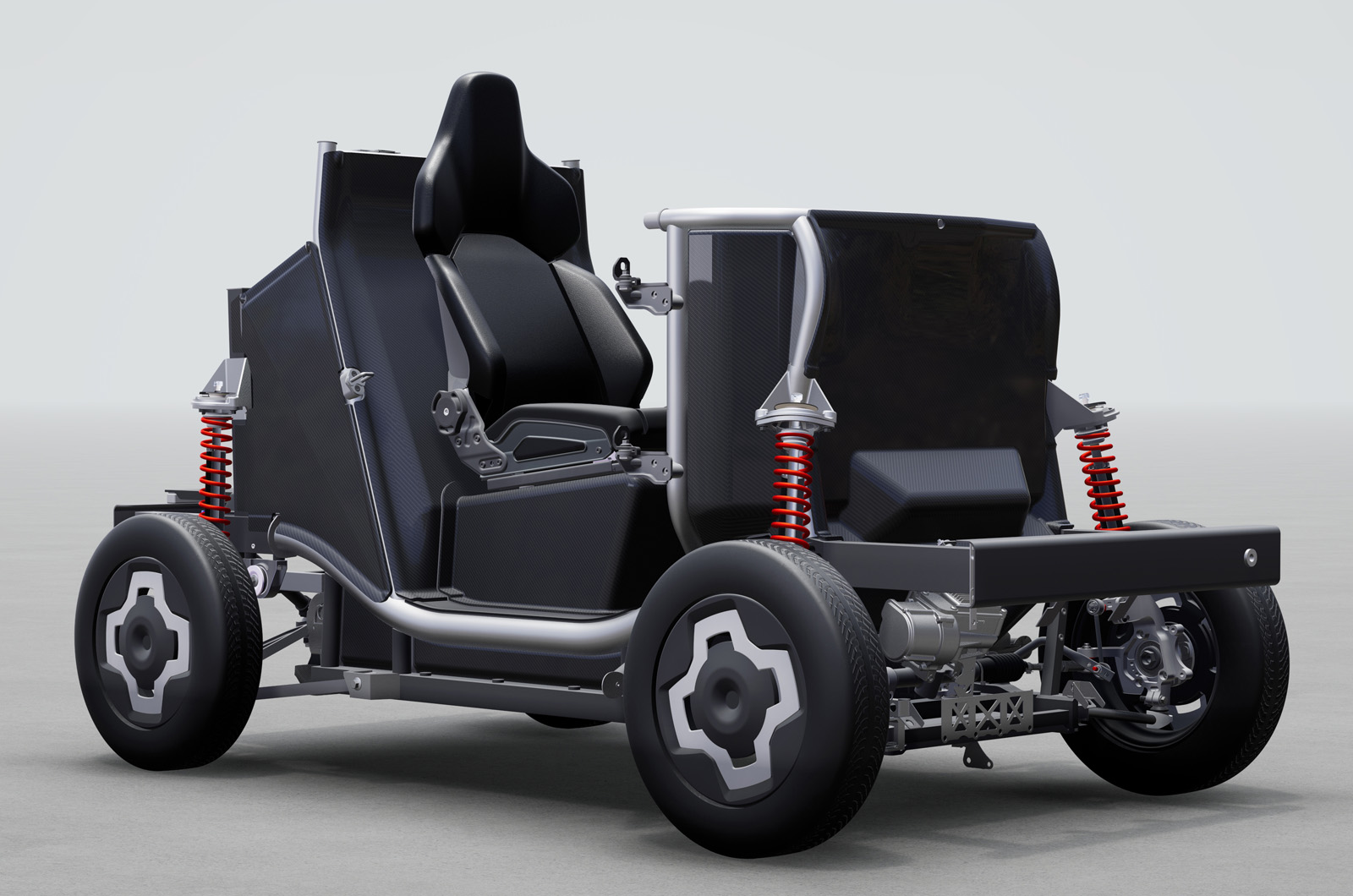 gmd istream equadricycle rolling chassis