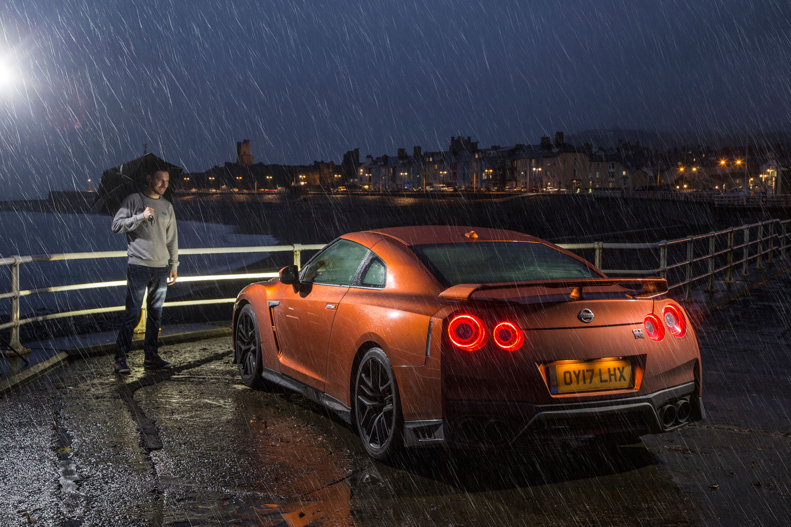 Nissan Gt R A Race Against The Sun To Celebrate 10 Years Of Big Scenery Images And I Would Have Chance Really Push Impenetrable Fog Lashing Rain Were Not What We Had In Mind
