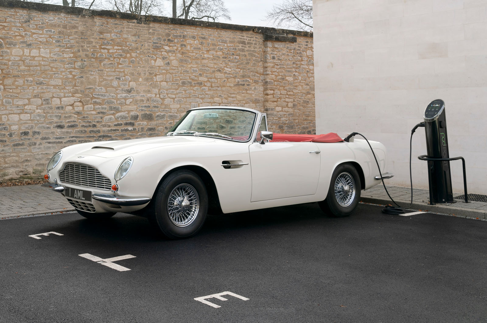 Aston Martin Offers Reversible Electric Conversion For Classic Cars Autocar