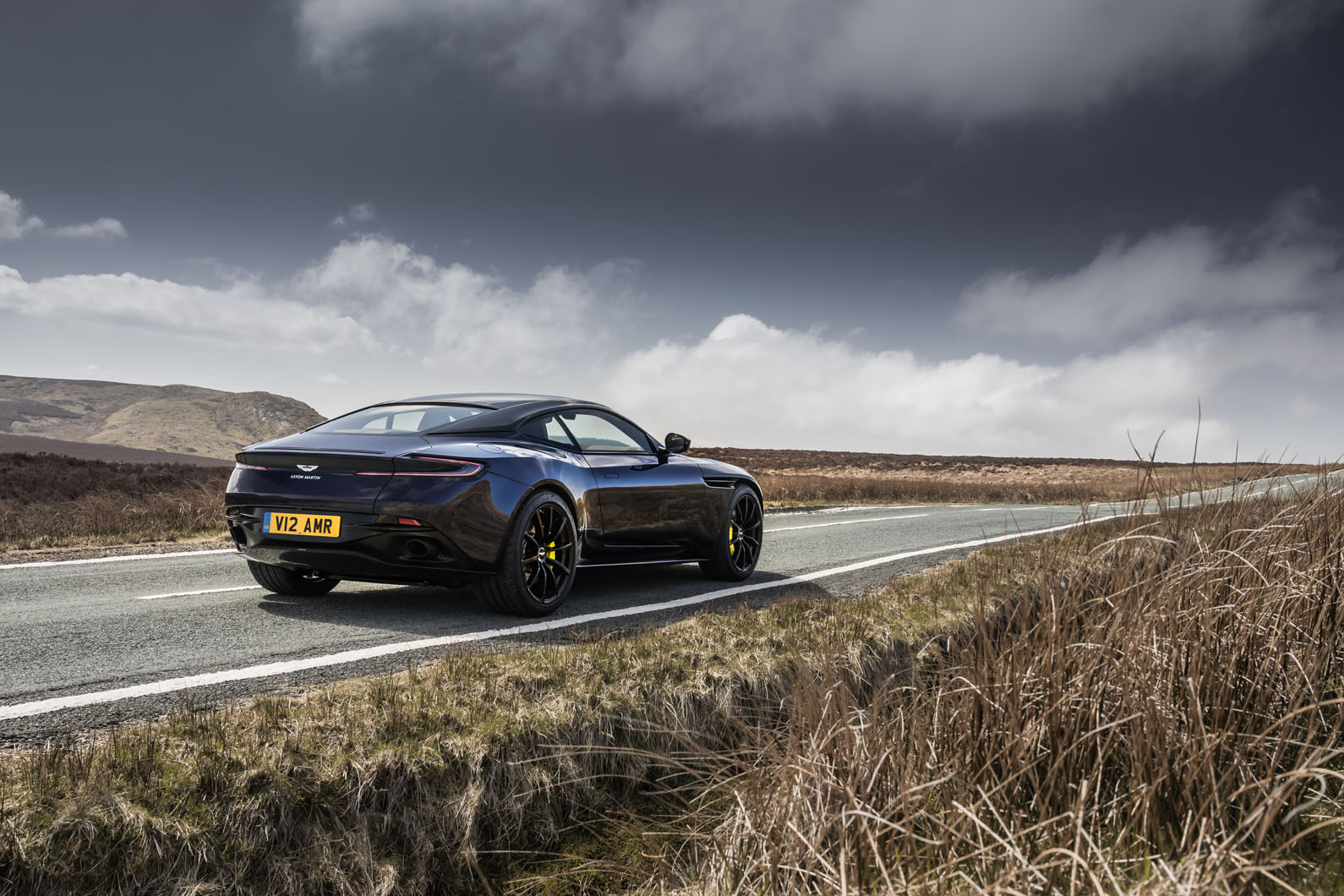 Aston Martin DB11 AMR launched with 630bhp V12
