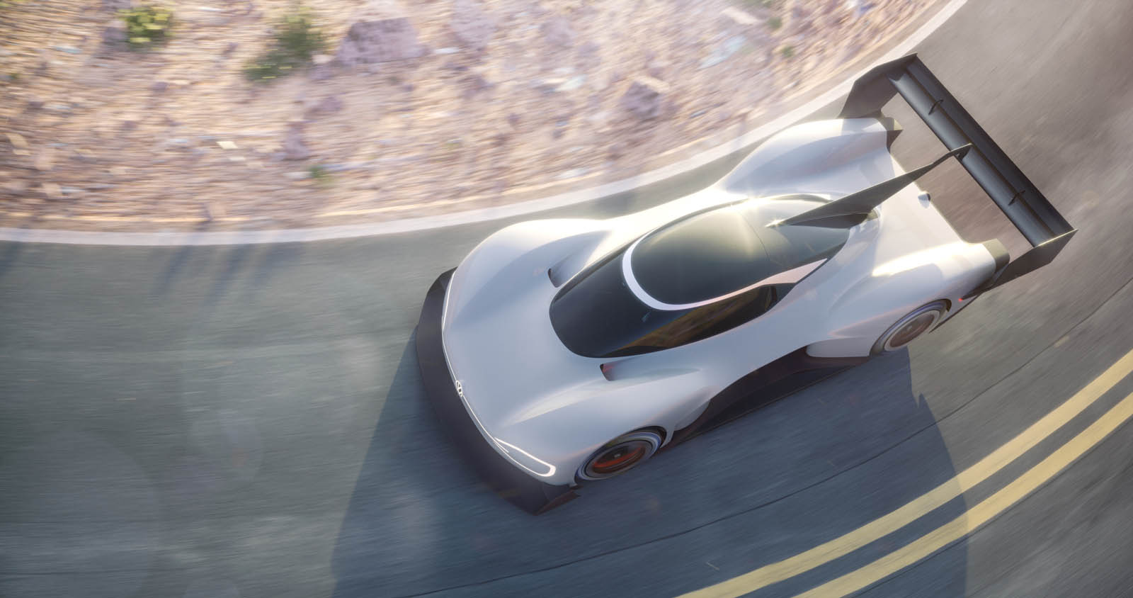 Volkswagen introduces its all-electric prototype racing auto