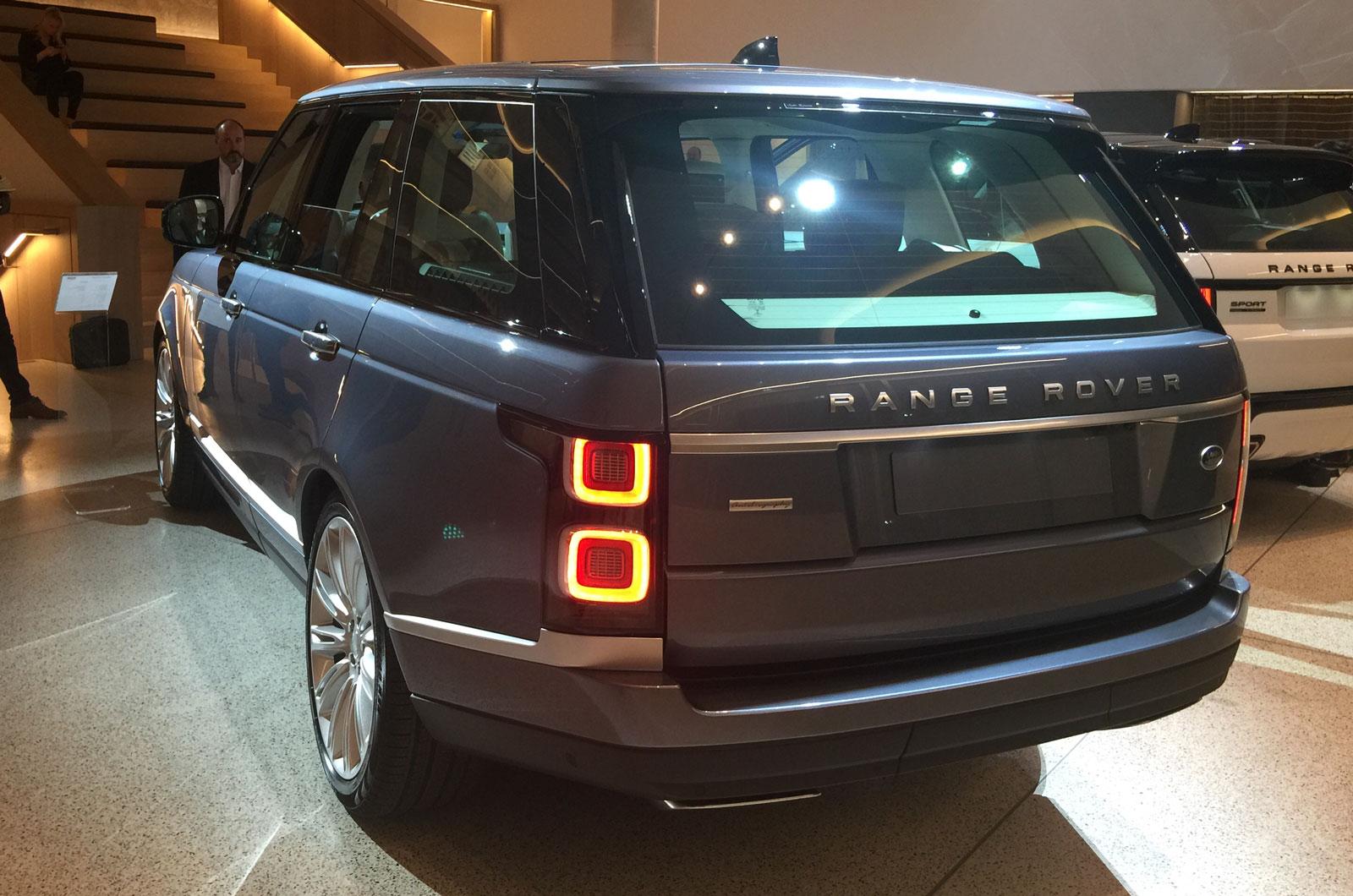 Range Rover Facelift Brings All New P400e Plug In Hybrid Variant