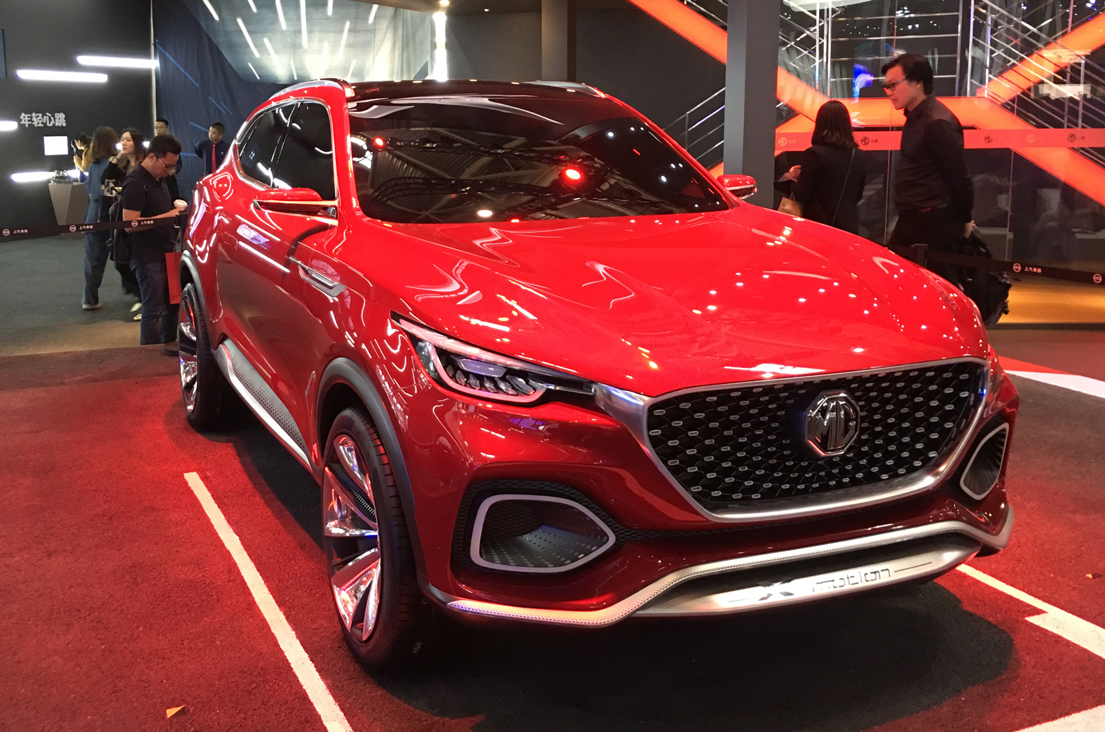 New Mg X Motion Concept Previews 2019 Production Suv Autocar