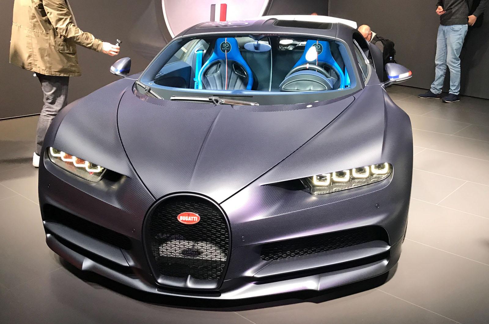Bugatti Celebrates 110th Anniversary With Chiron Sport 110 Ans Bugatti Autocar
