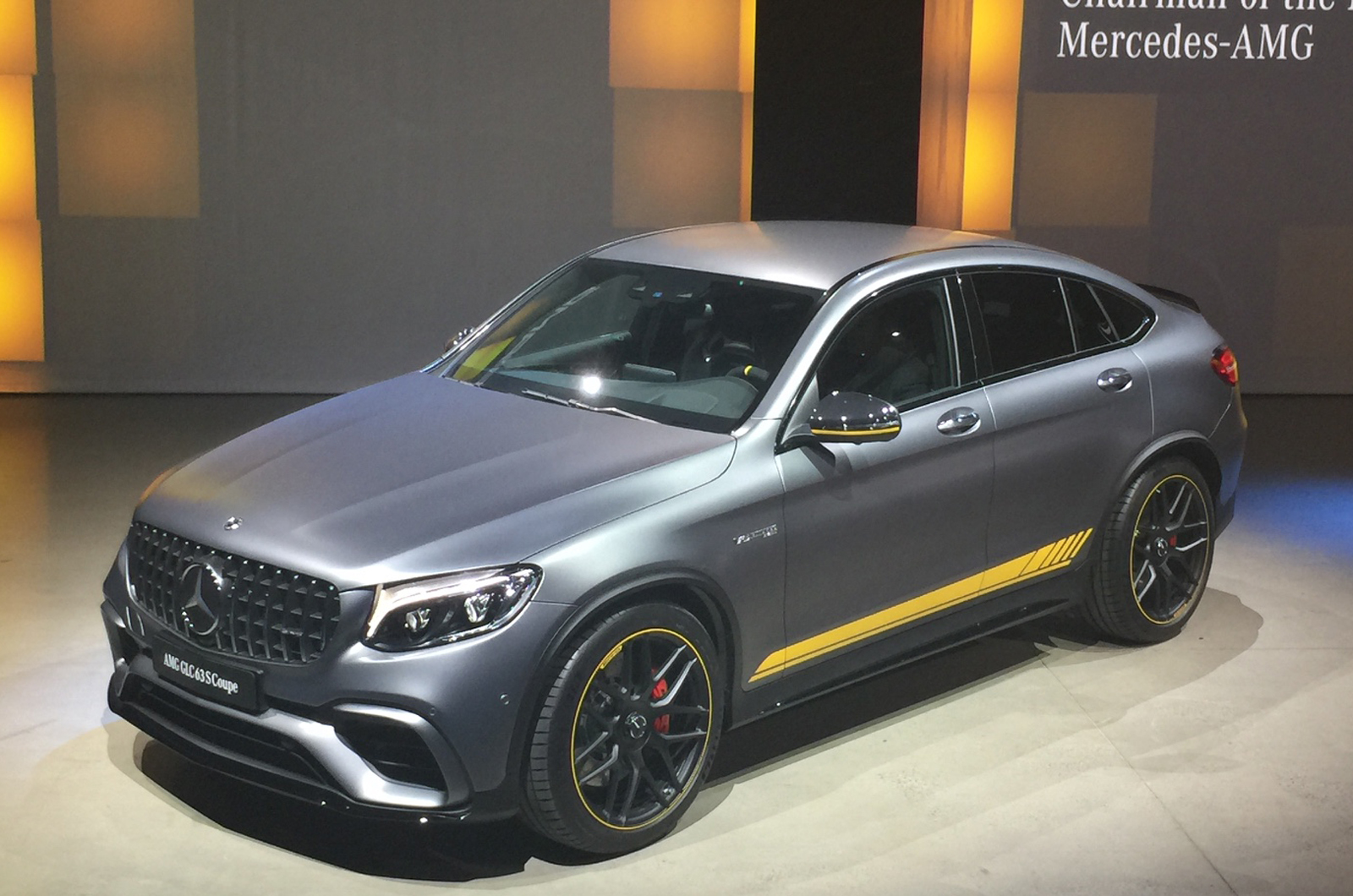 Mercedes Amg Glc 63 And Glc 63 Coupe Pricing Revealed Autocar